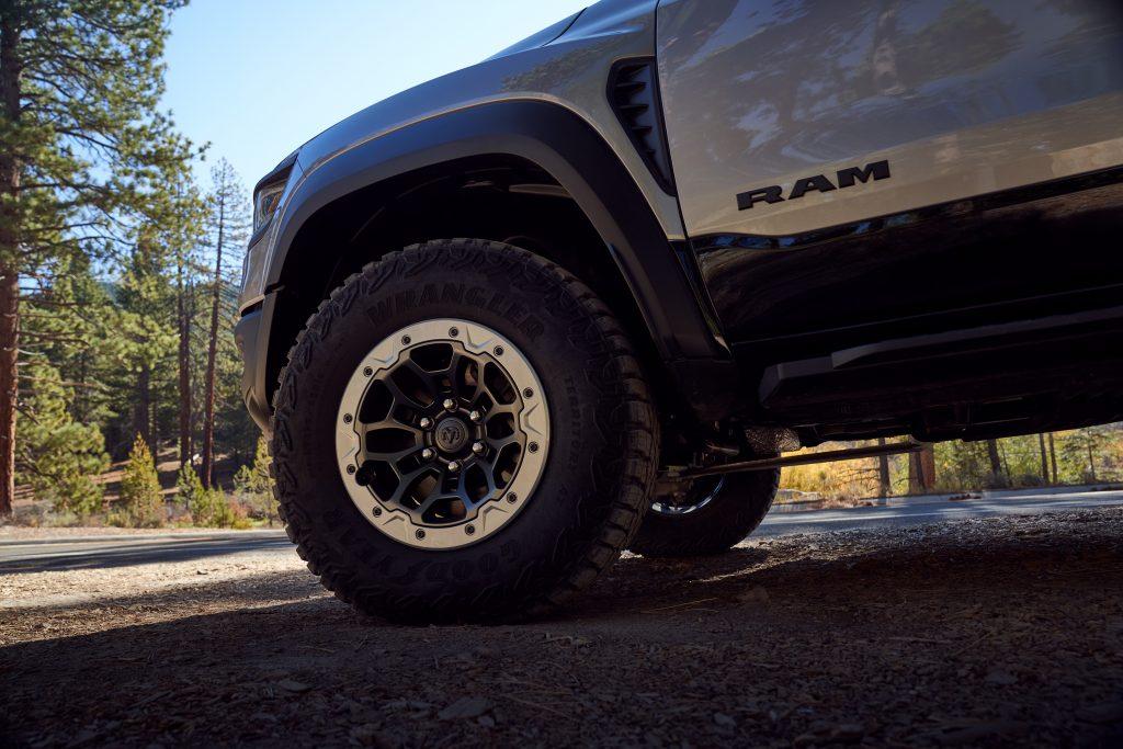 2021 Ram 1500 TRX front wheel detail