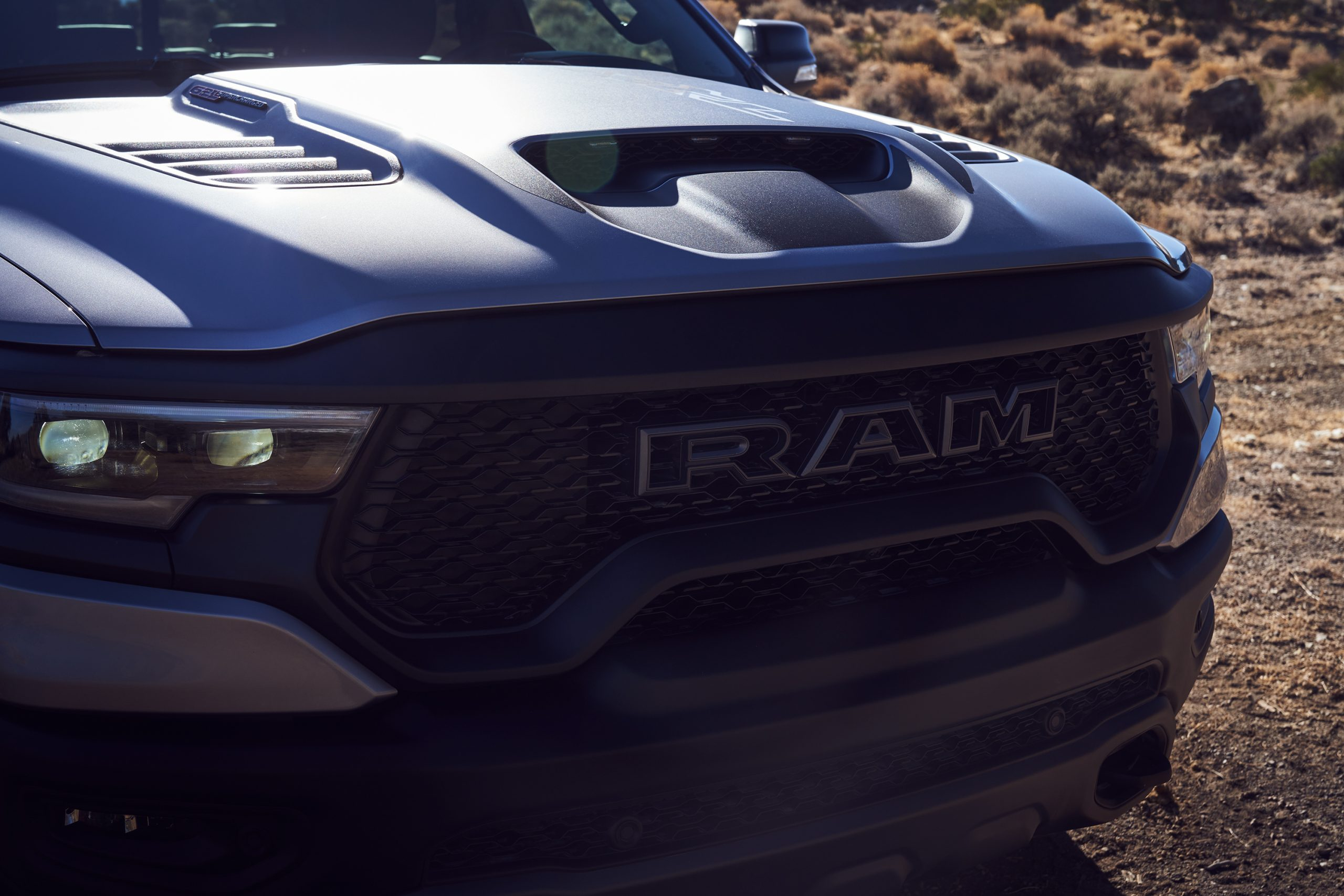 2021 Ram 1500 TRX front grille