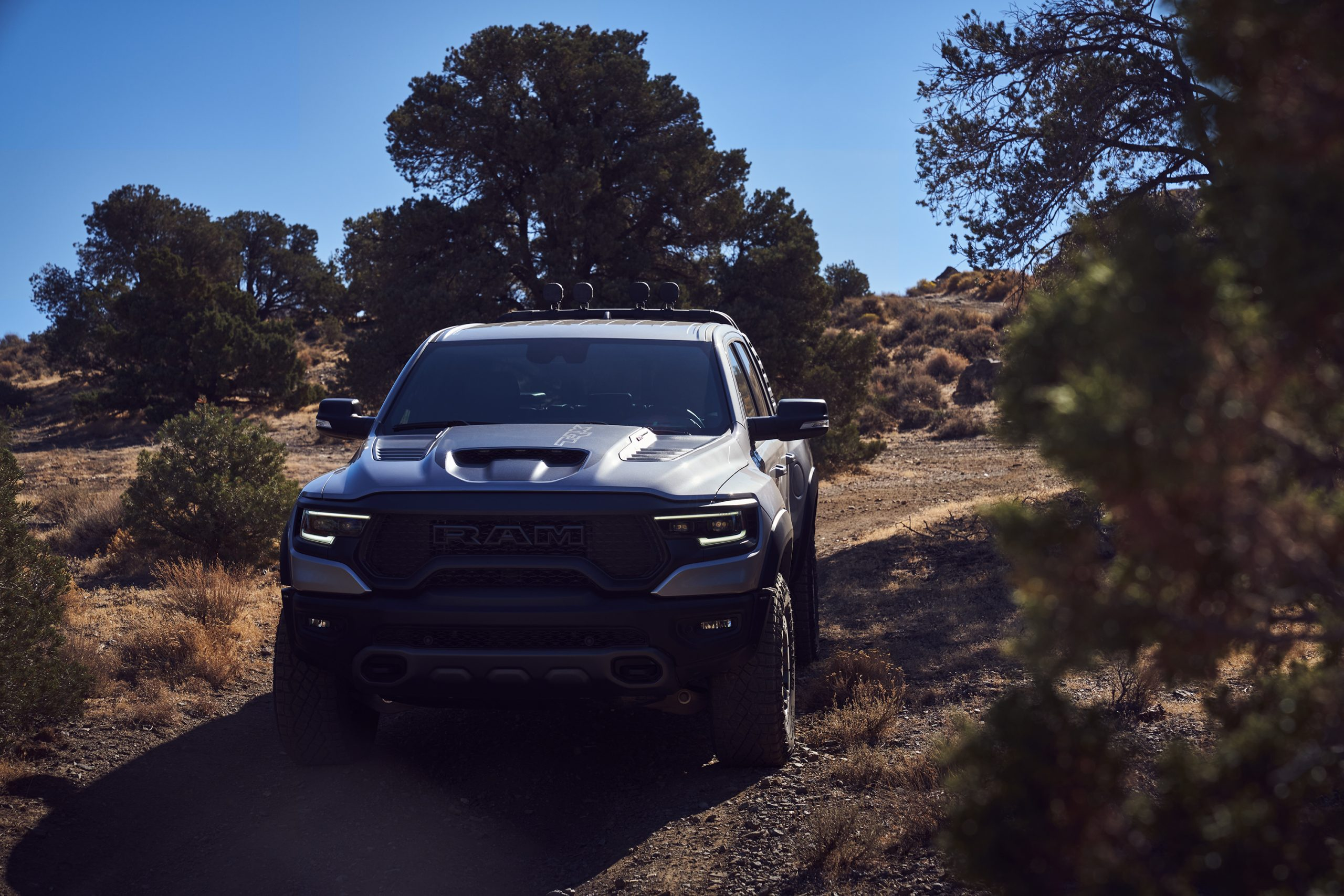 2021 Ram 1500 TRX front trail