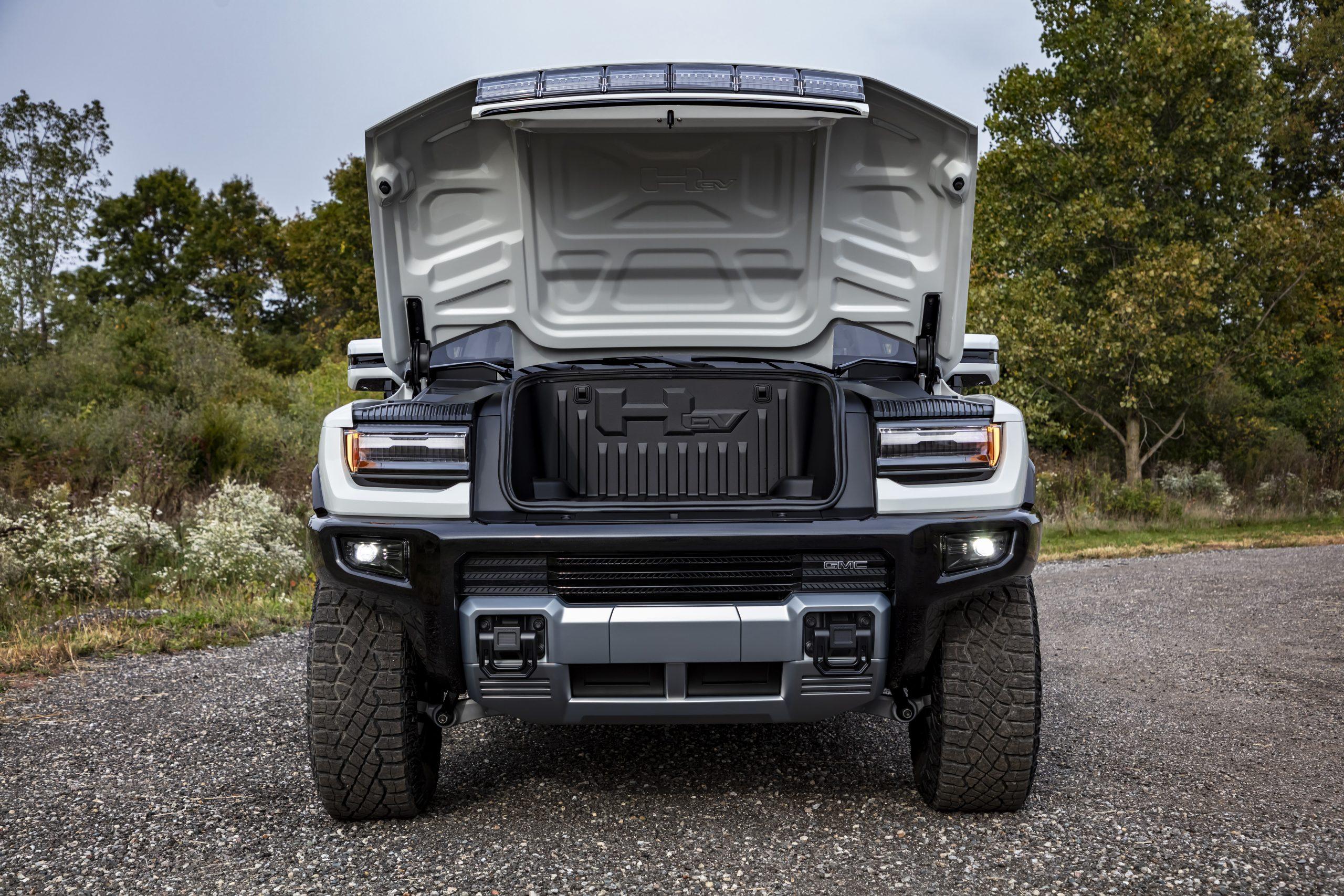 2022 Hummer EV Frunk