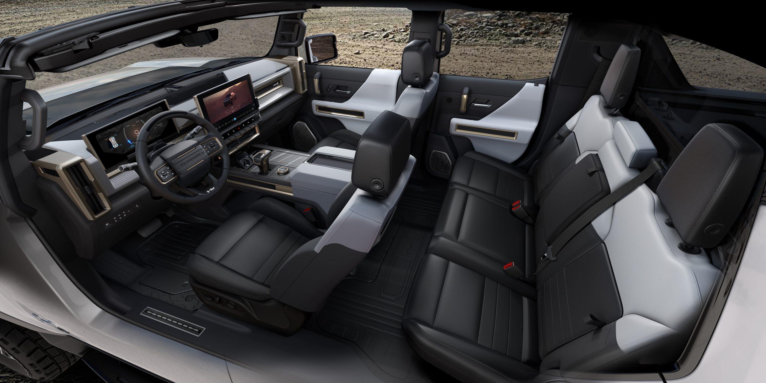 2022 Hummer EV interior