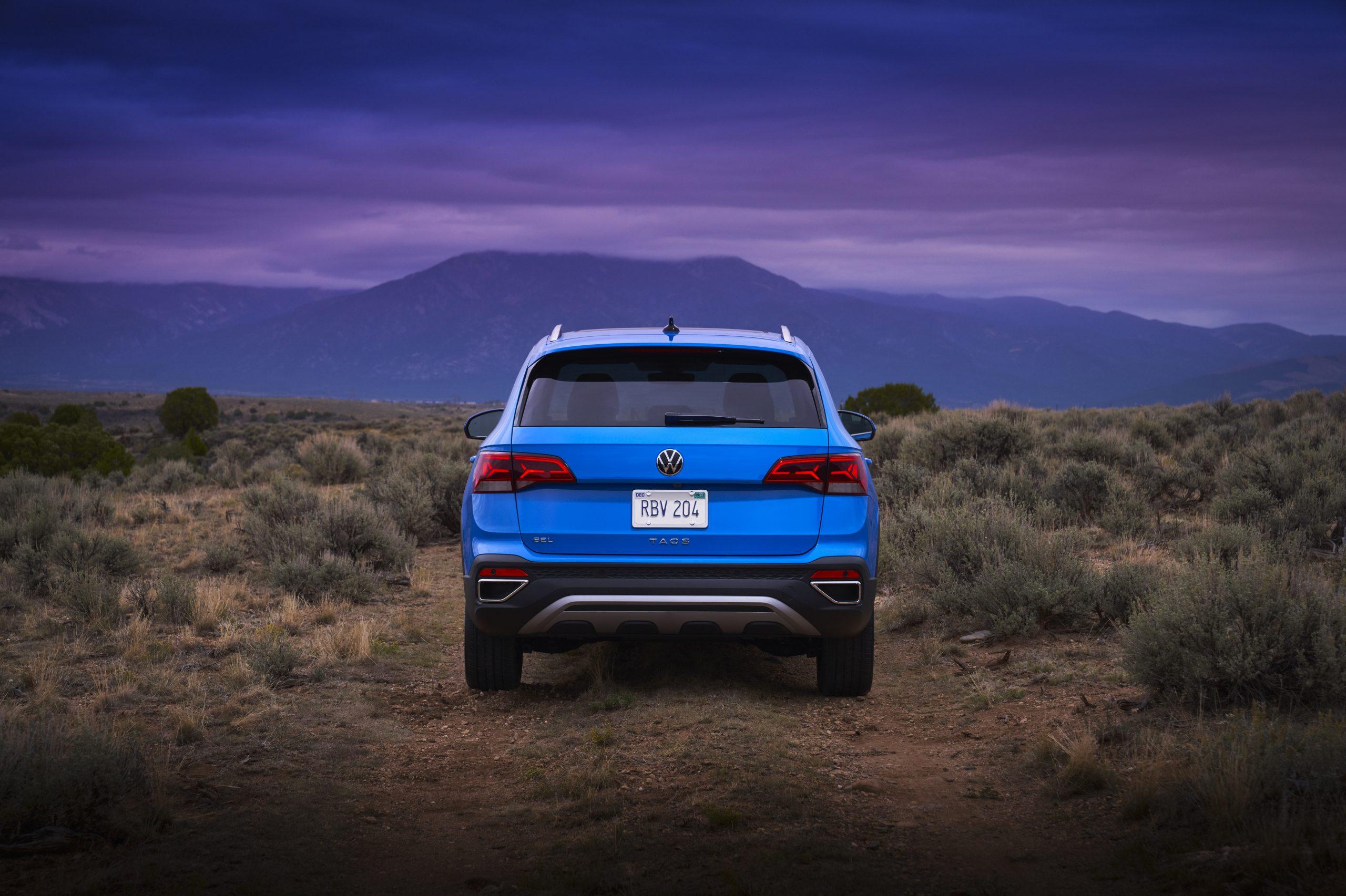 2022 Volkswagen Taos static rear