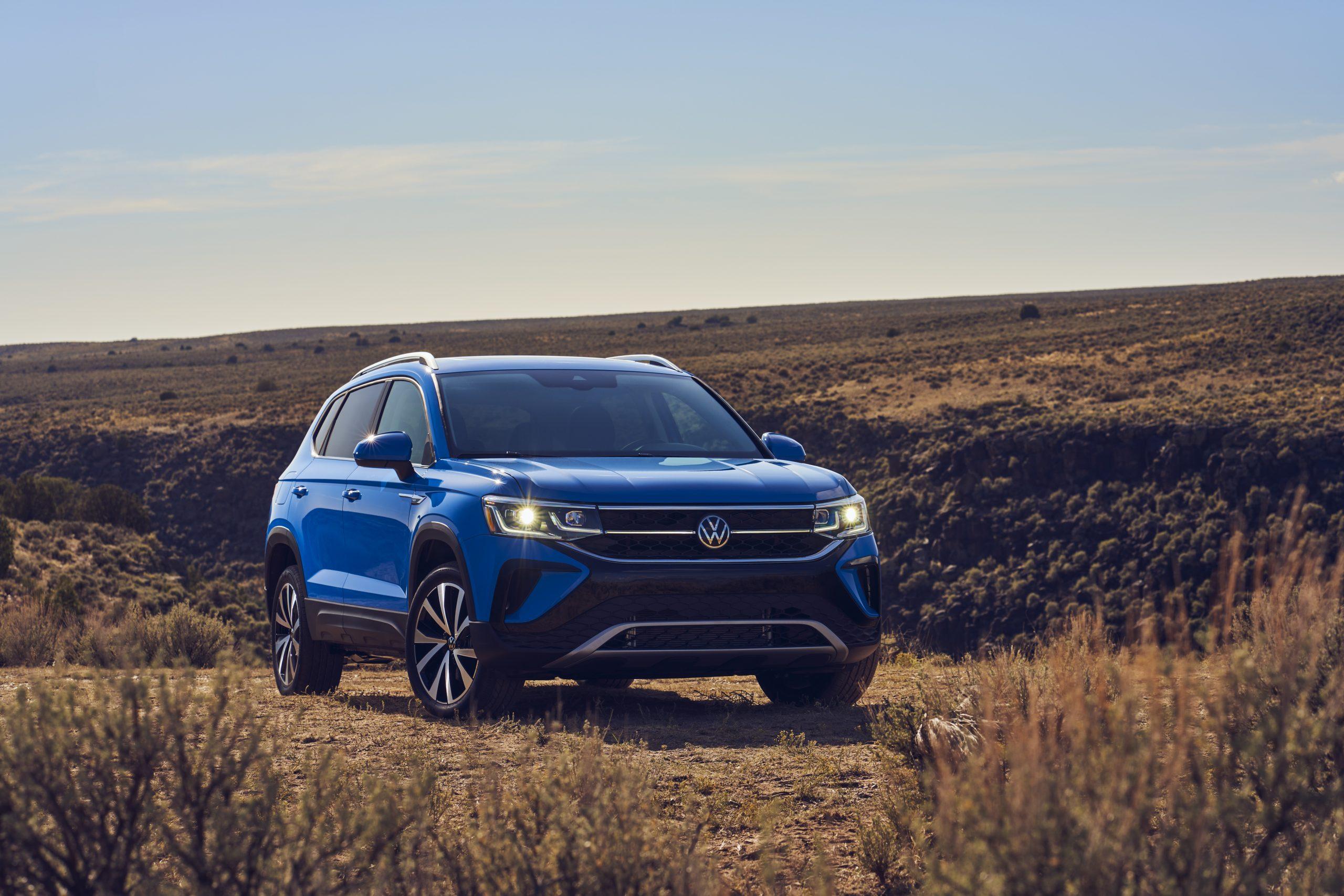 2022 Volkswagen Taos static front three quarter