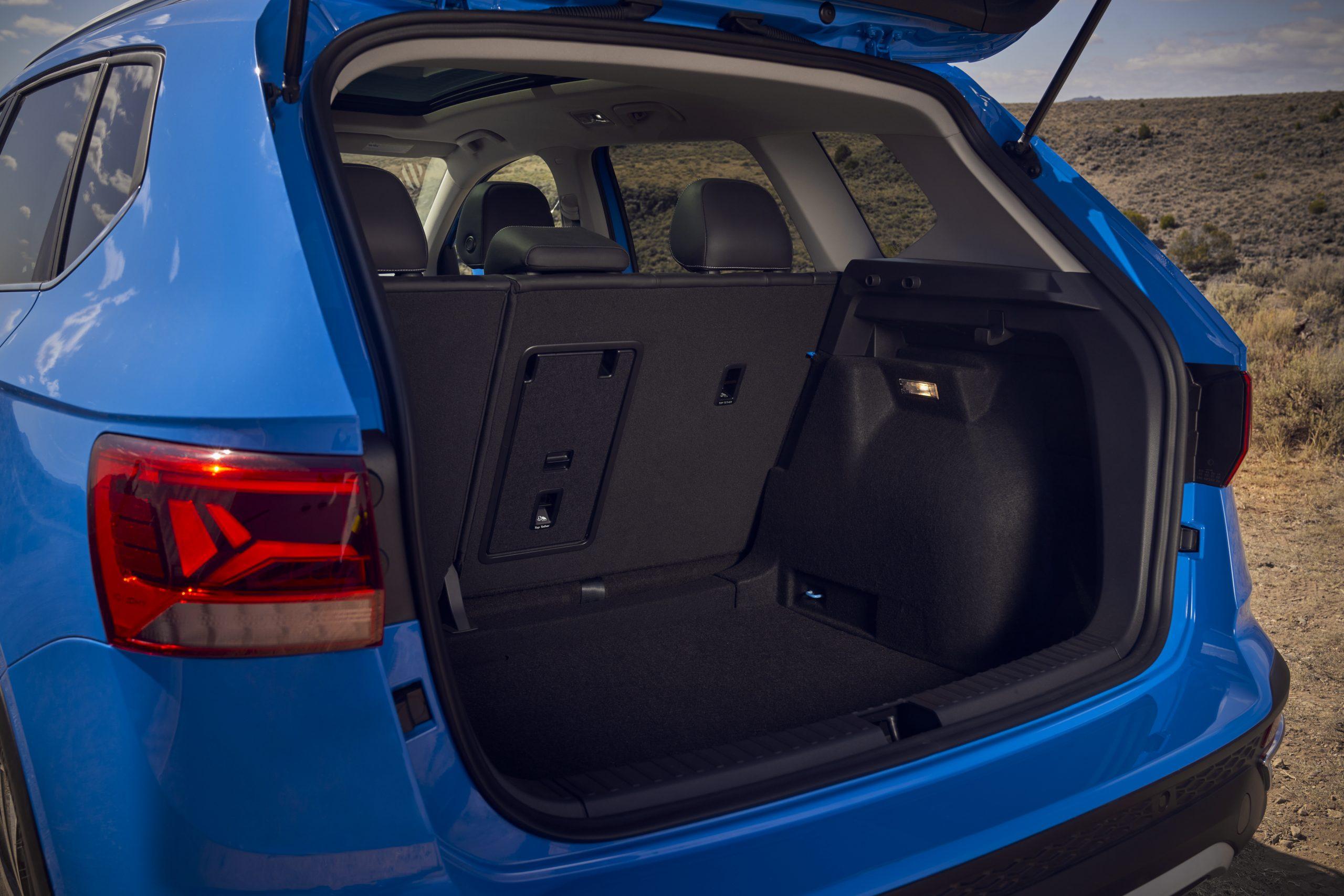 2022 Volkswagen Taos trunk