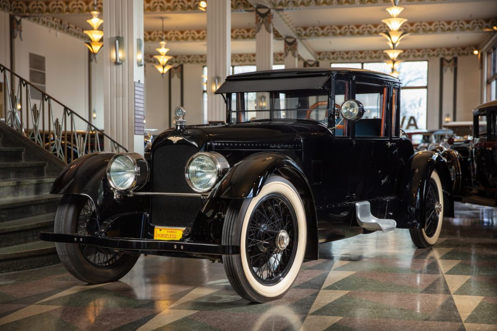 Duesenberg Model A front three-quarter
