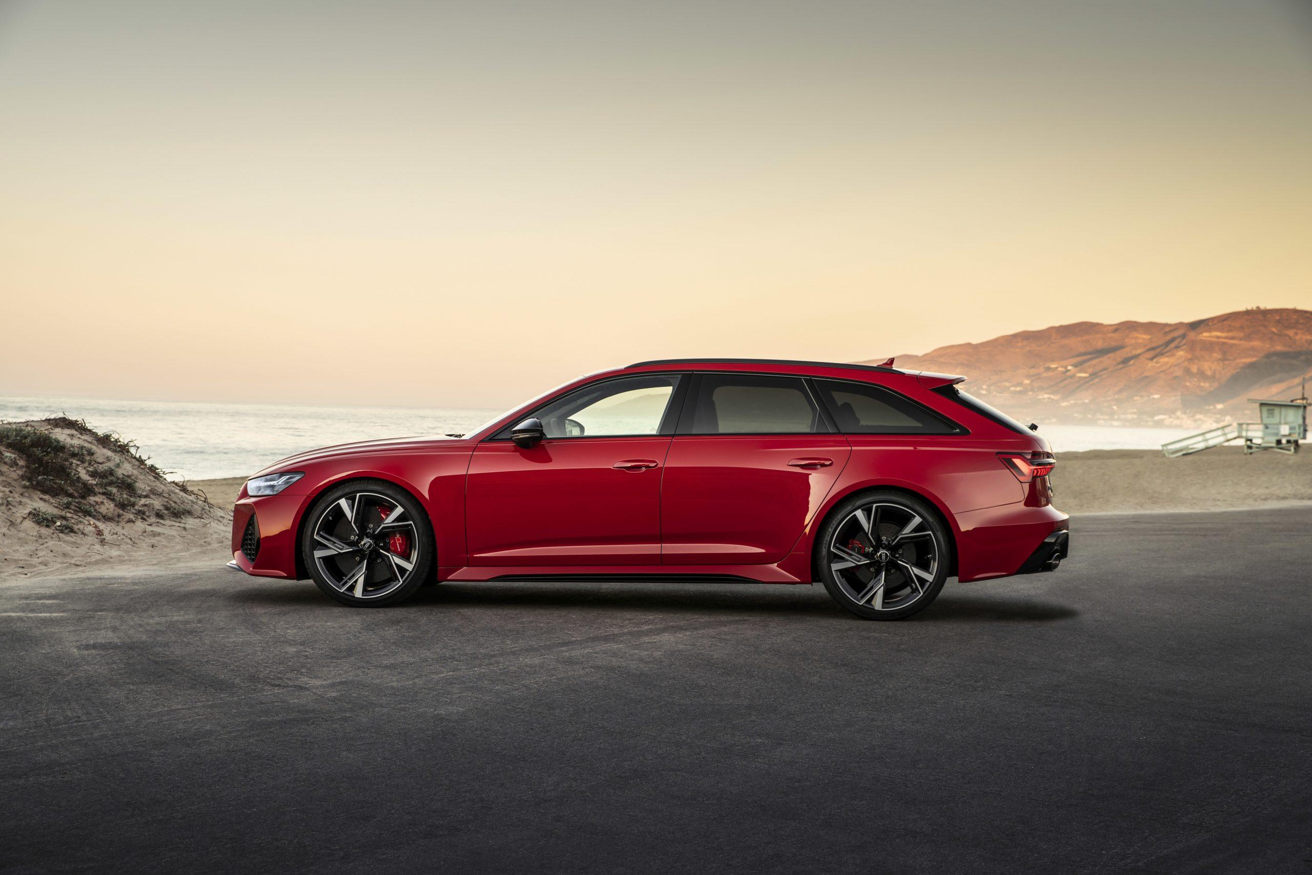 2021 Audi RS 6 Avant profile wagon