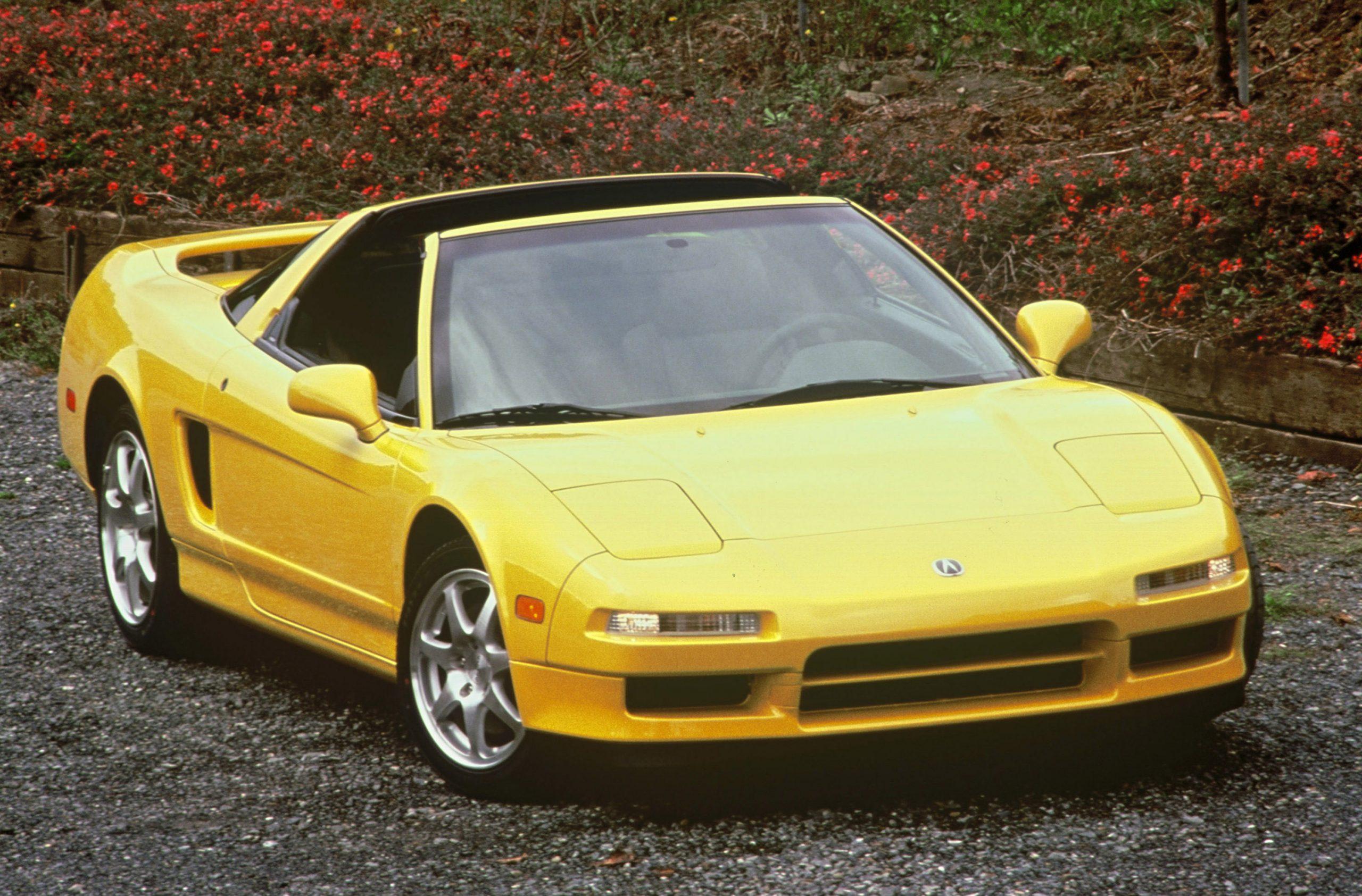 1997 Acura NSX-T front three-quarter