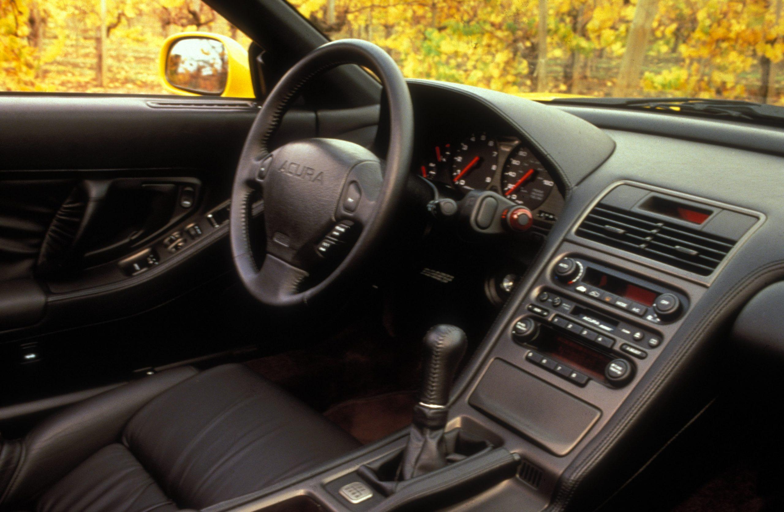 1997 Acura NSX interior