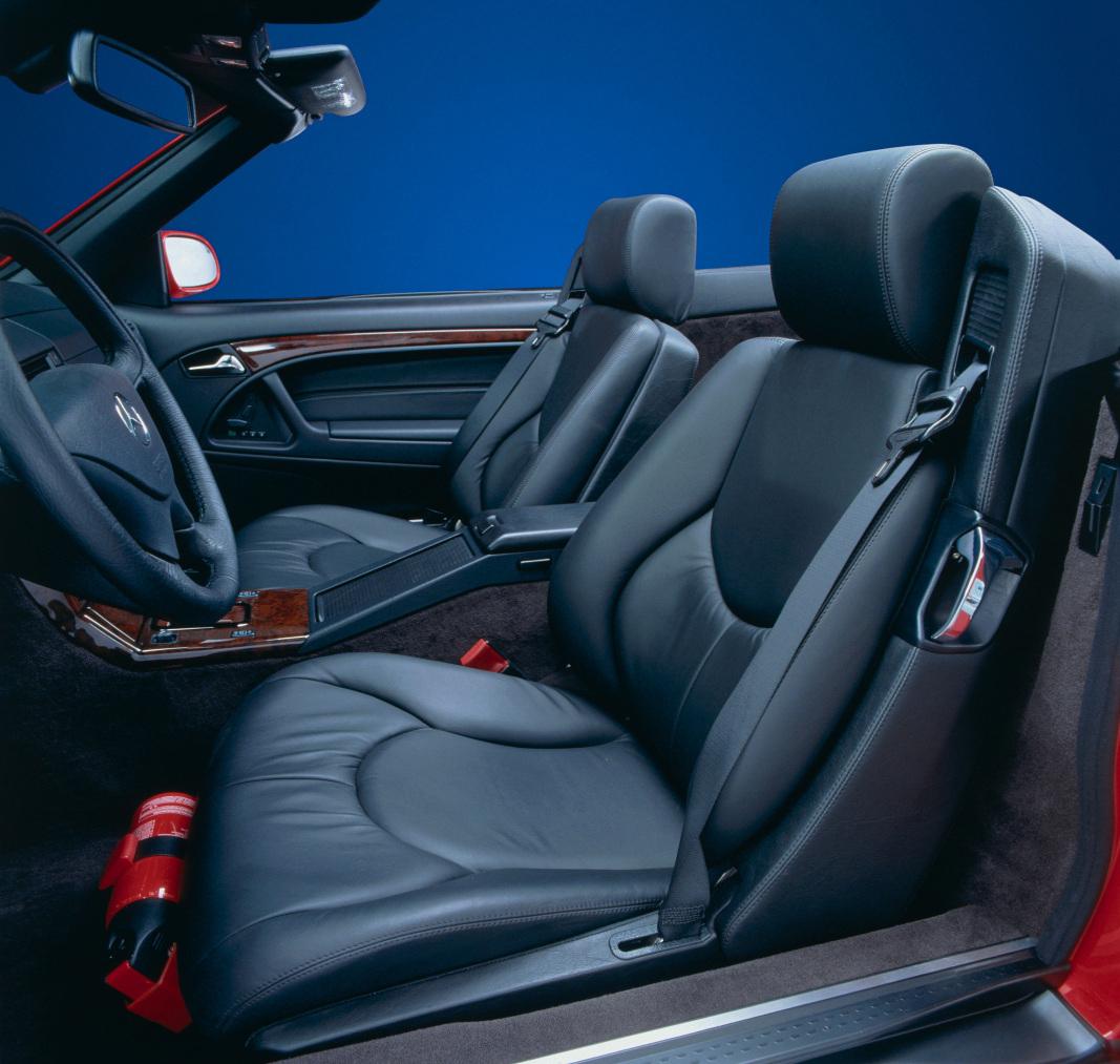 Mercedes-Benz SL-Roadster Baureihe 129 interior