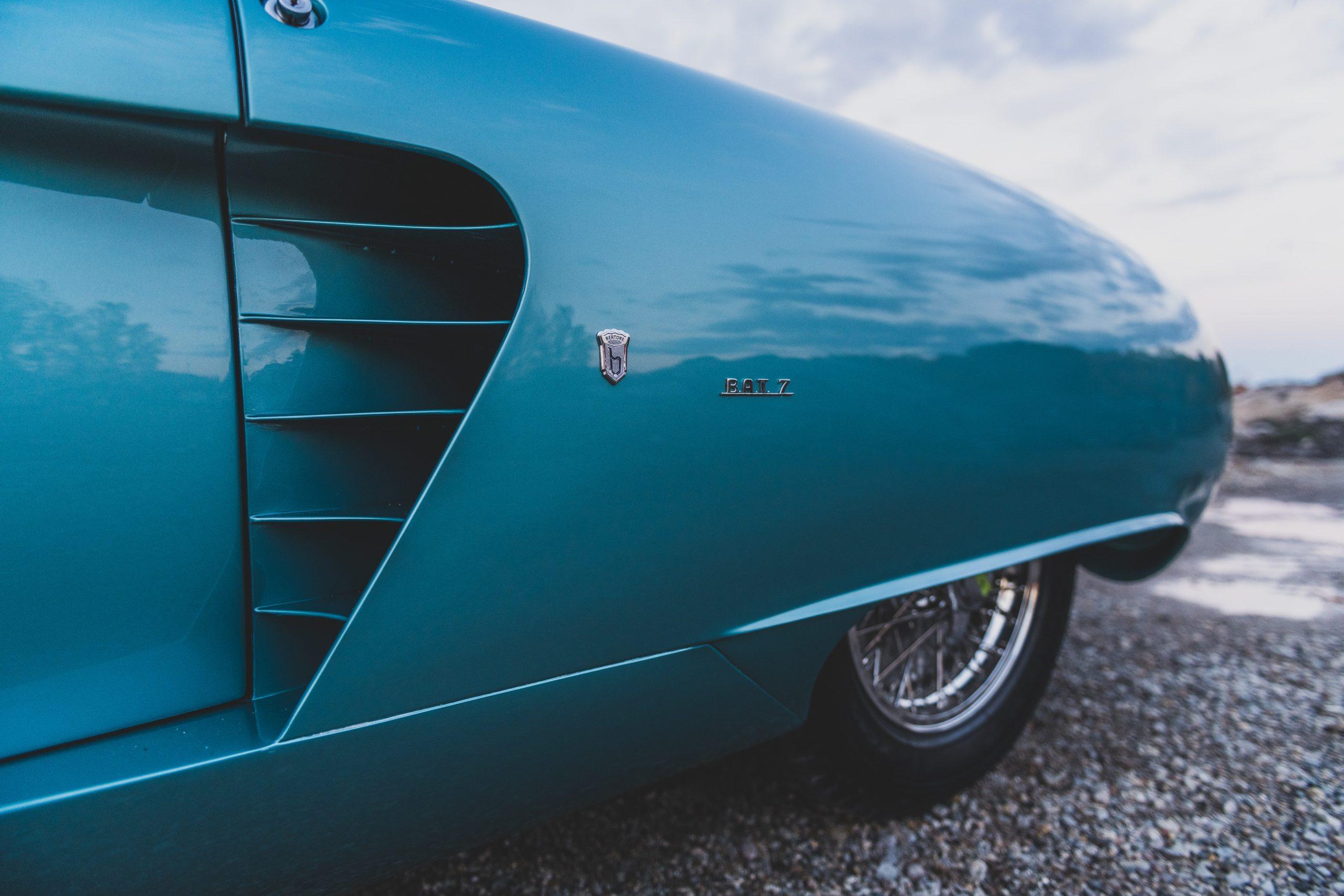 Alfa Romeo Berlina Aerodinamica Tecnica side vents