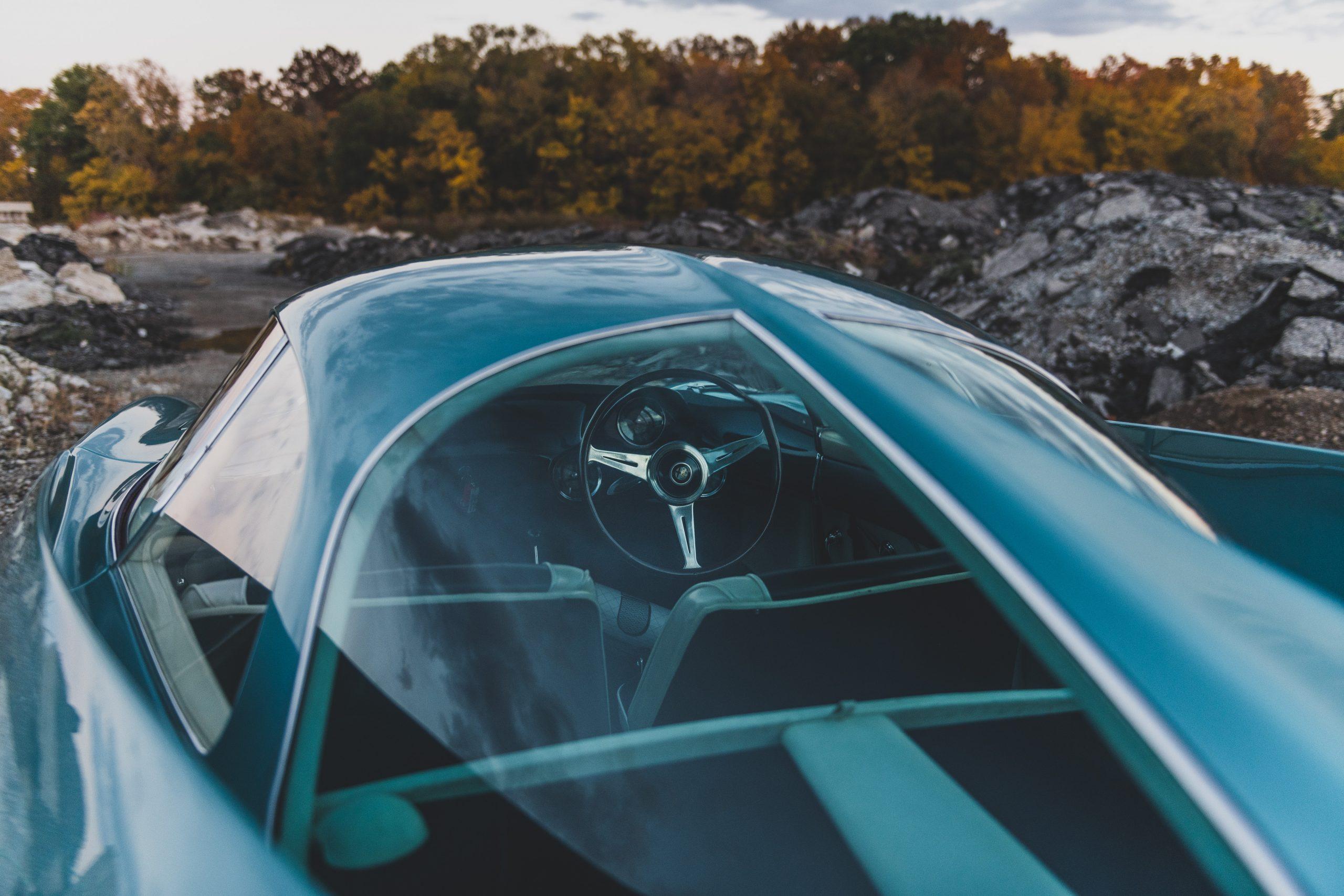 Alfa Romeo Berlina Aerodinamica Tecnica rear glass