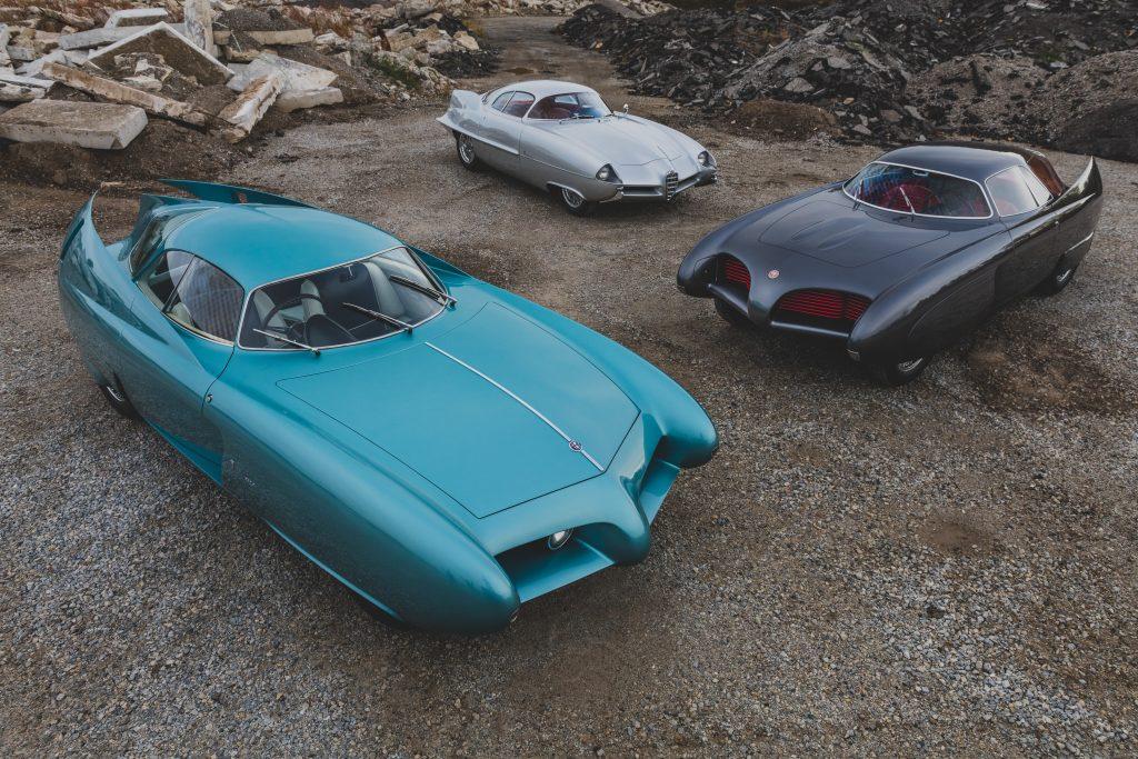Alfa Romeo Berlina Aerodinamica Tecnica bat cars