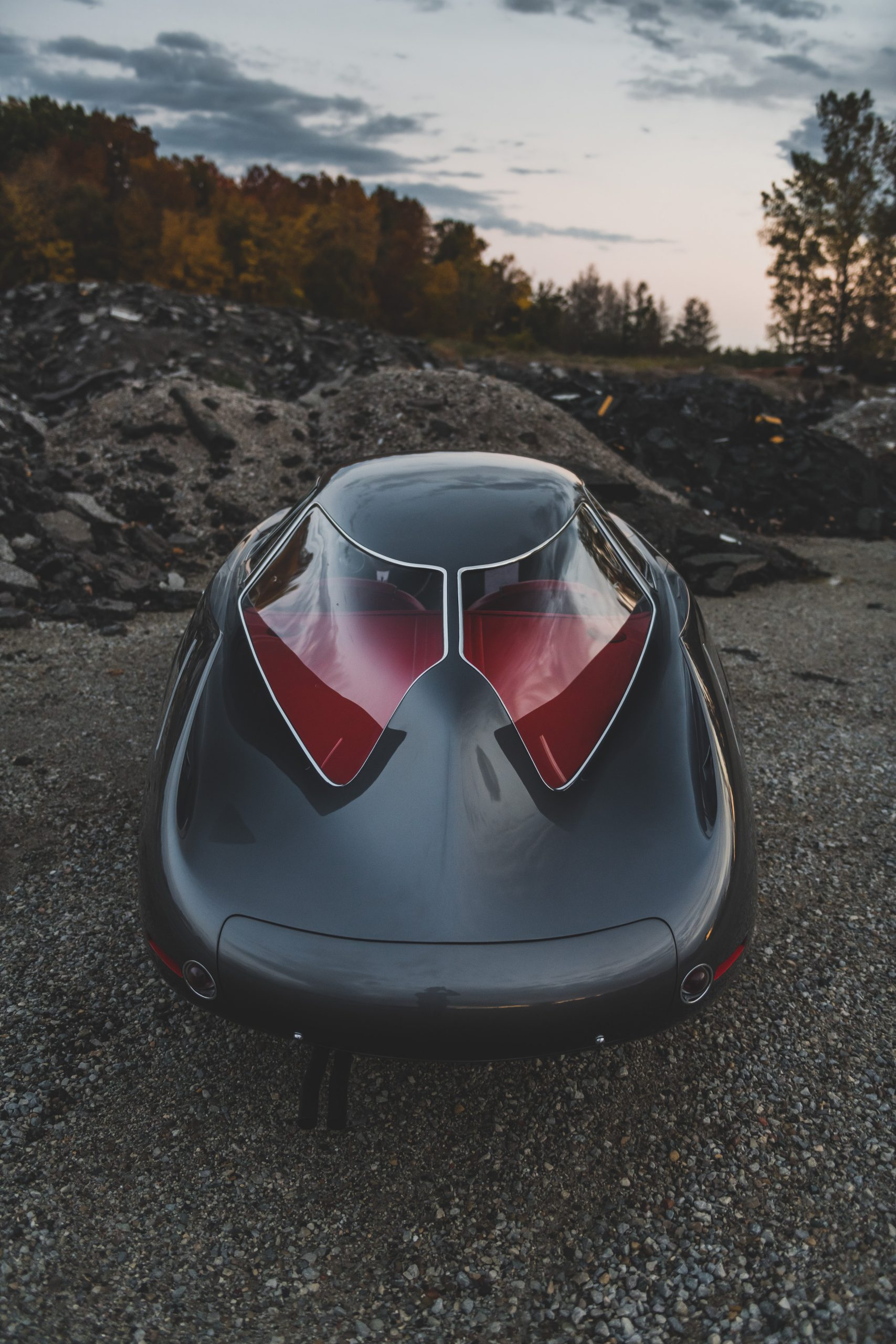Alfa Romeo Berlina Aerodinamica Tecnica rear