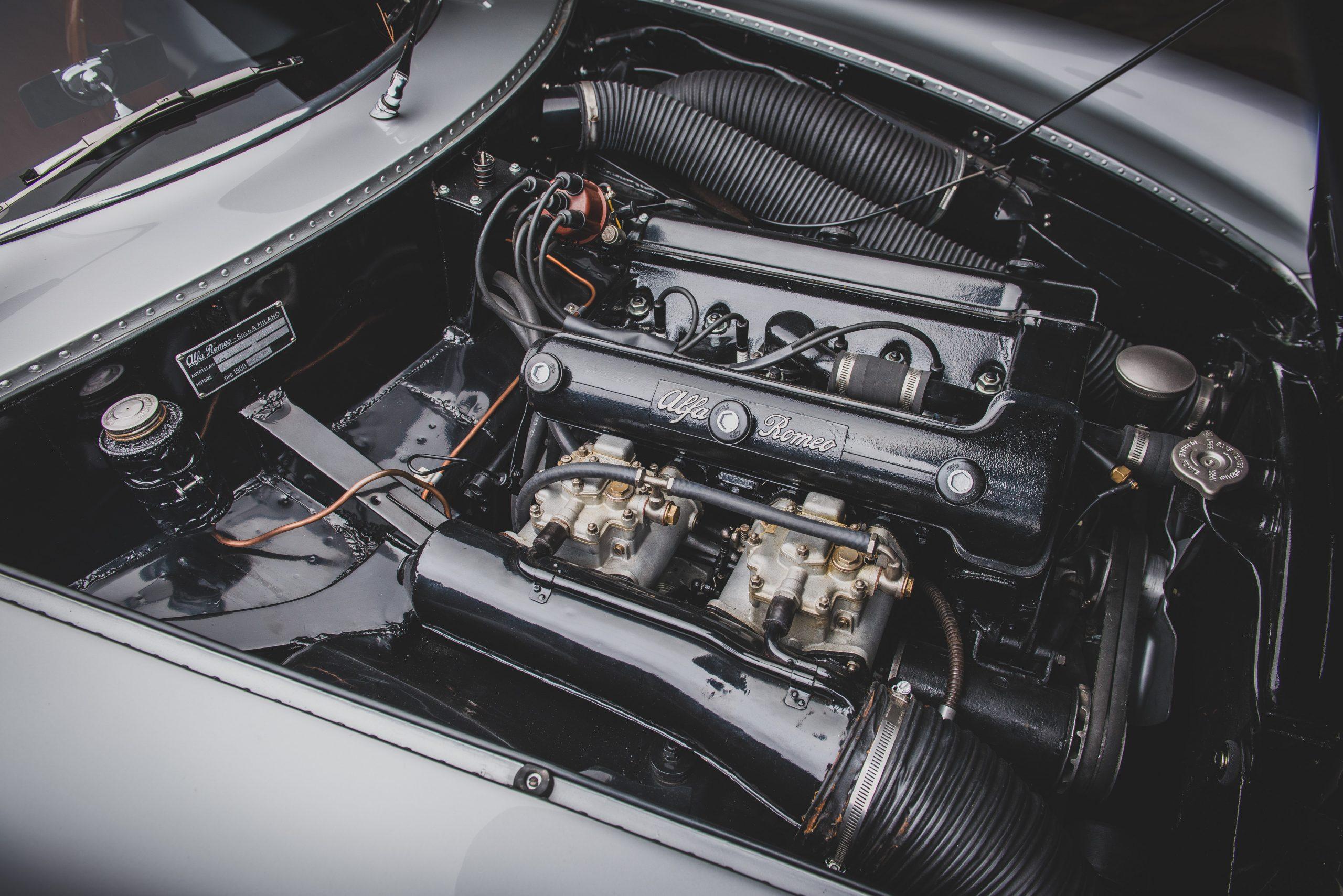 Alfa Romeo Berlina Aerodinamica Tecnica engine
