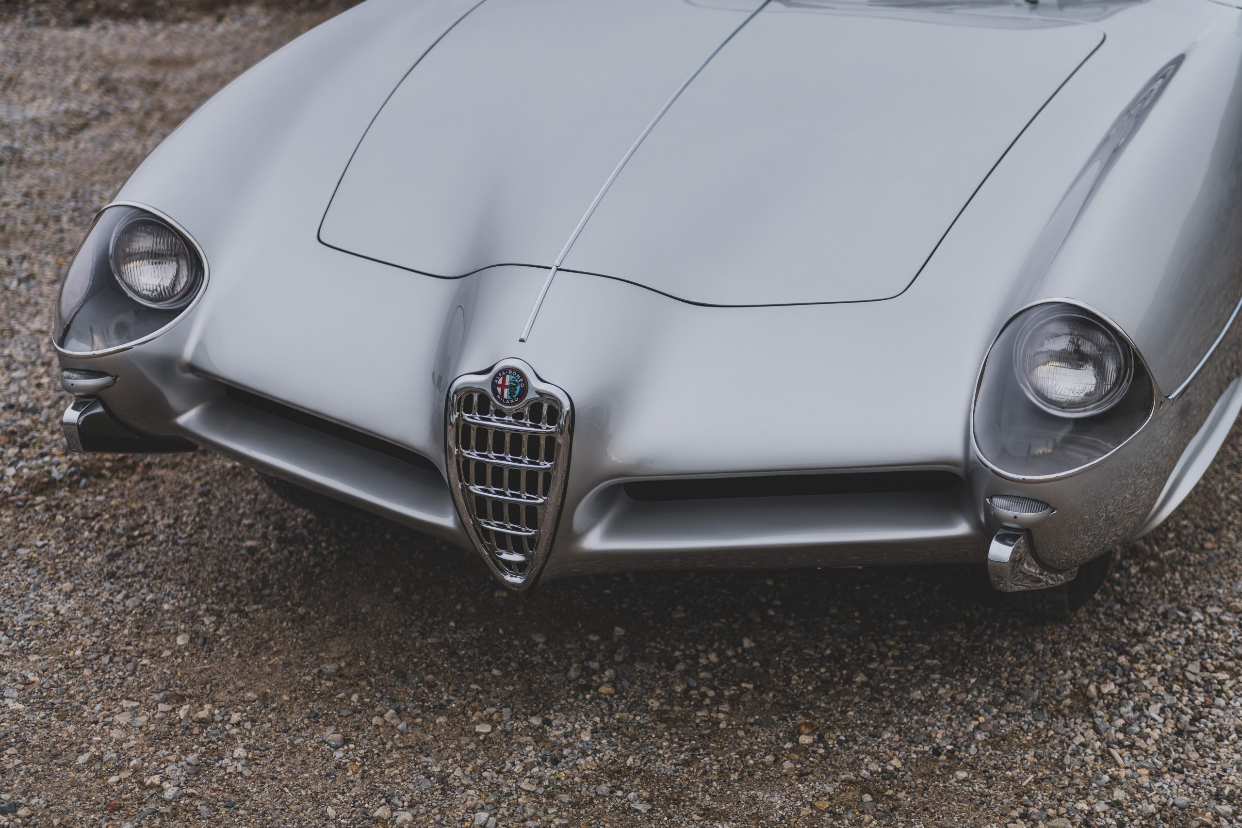 Alfa Romeo Berlina Aerodinamica Tecnica front