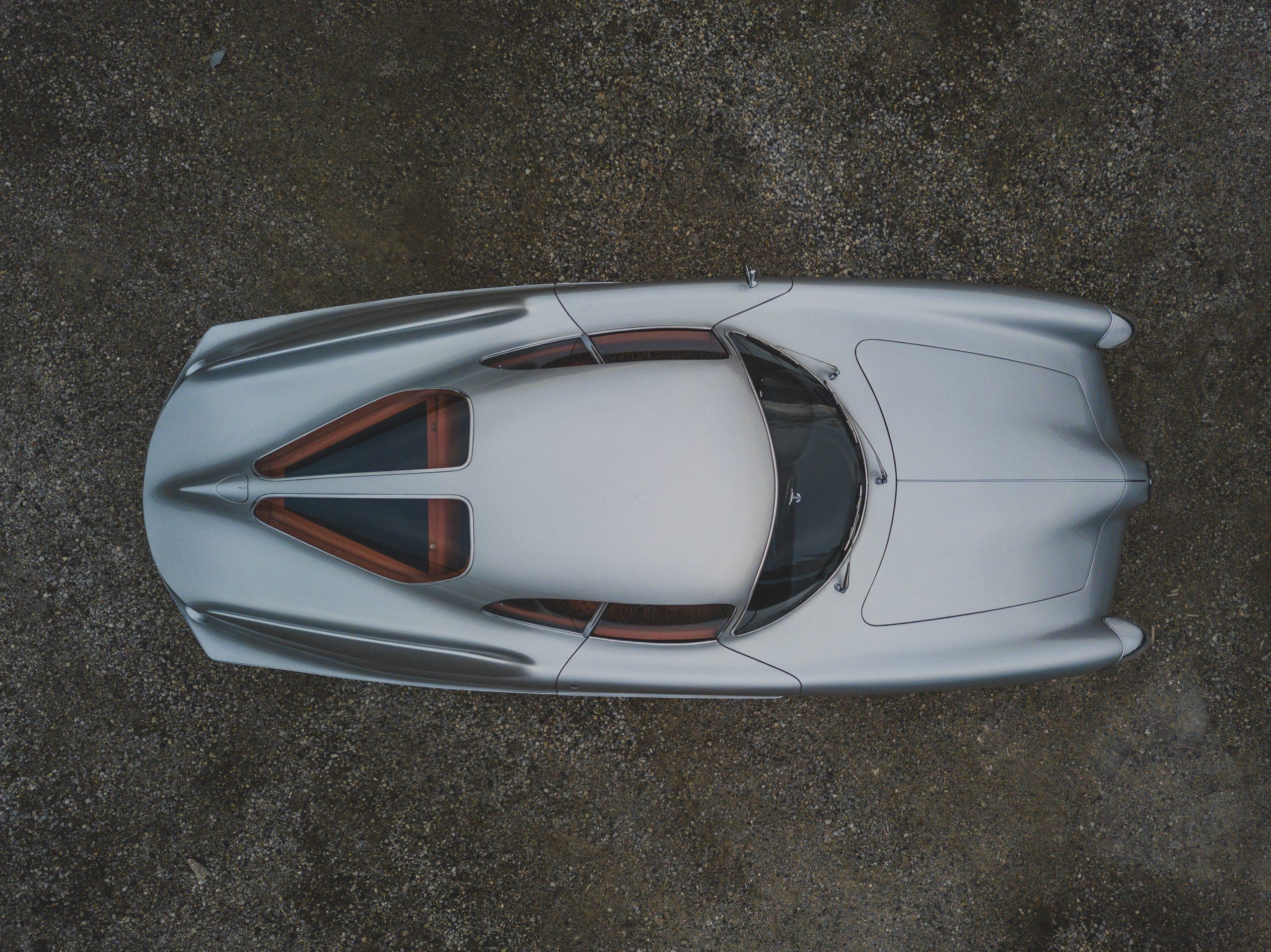Alfa Romeo Berlina Aerodinamica Tecnica overhead