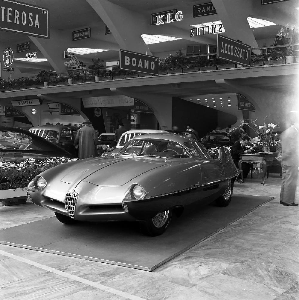 Alfa Romeo BAT 9d Turin Automobile Salon 1955
