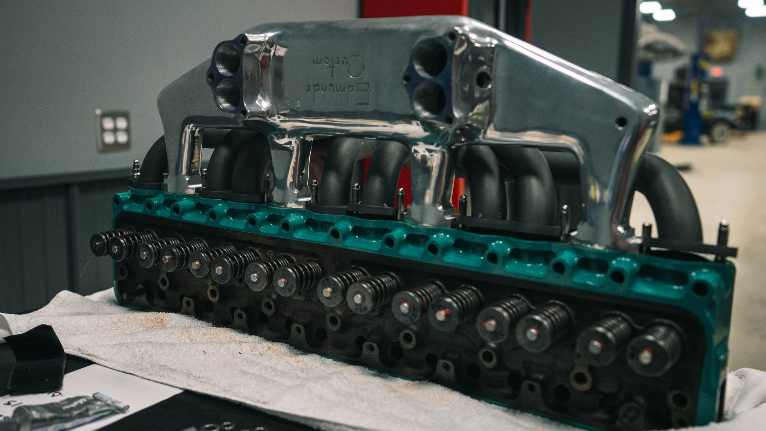 Buick Straight 8 engine redline rebuild
