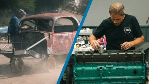 Buick straight-eight pistons and sandblasting our 1937 Ford Coupe | Redline Update