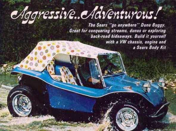 sears dune buggy body kit ad