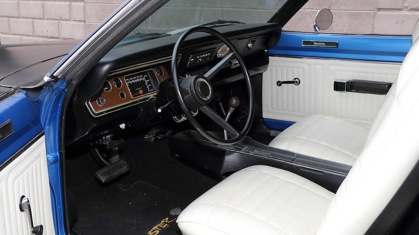 1972 Plymouth Duster 340 interior
