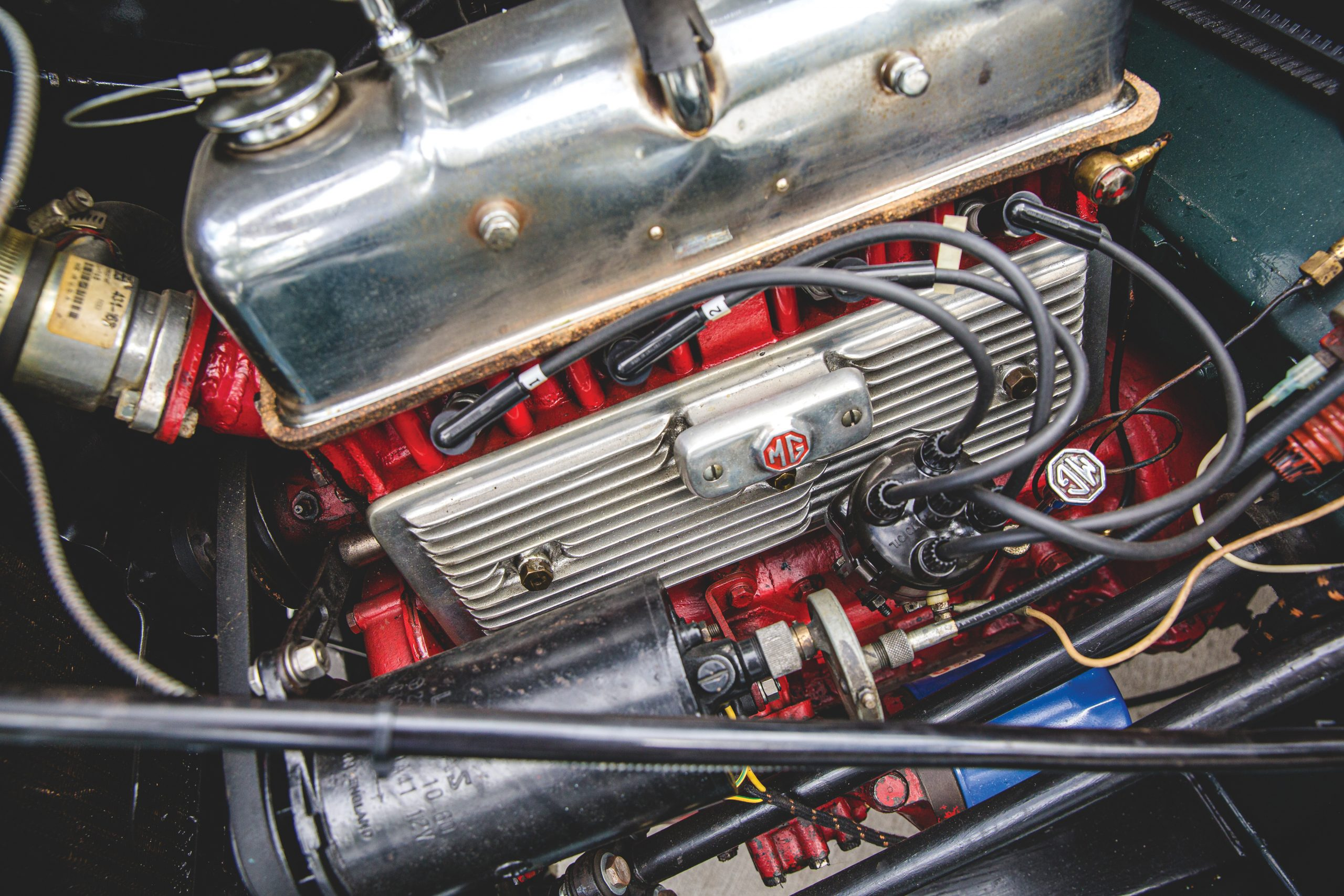1952 MG TD engine