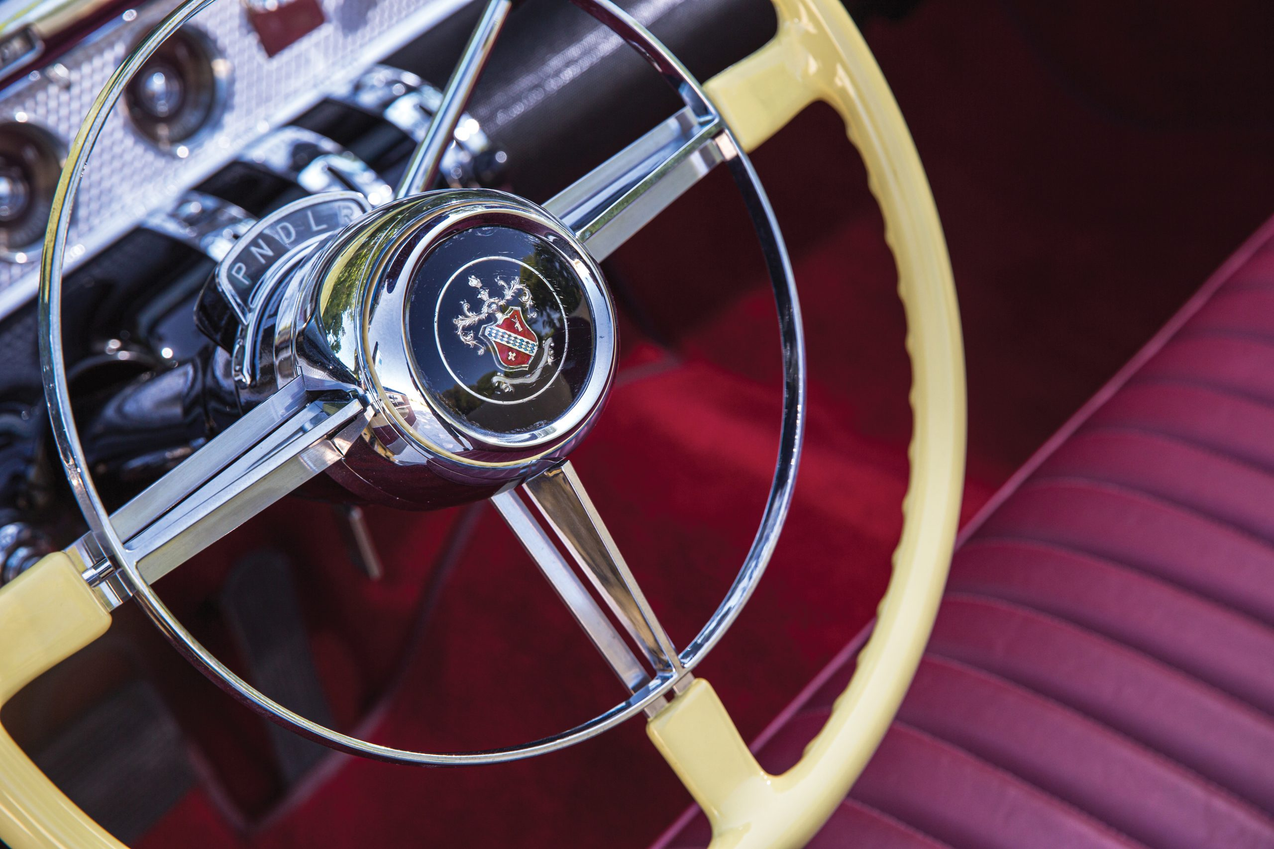 1954 Buick Roadmaster Convertible interior