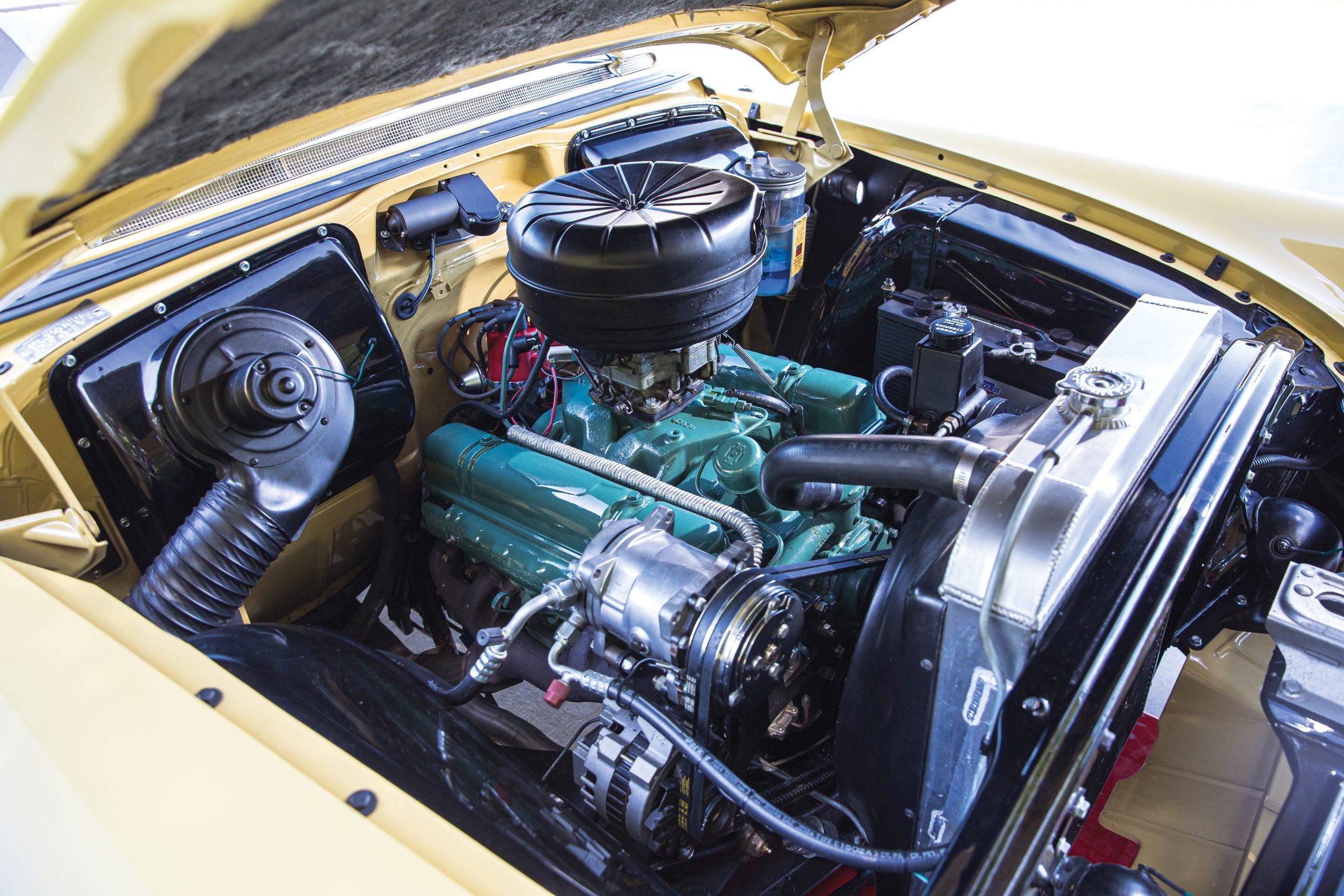 1954 Buick Roadmaster Convertible engine