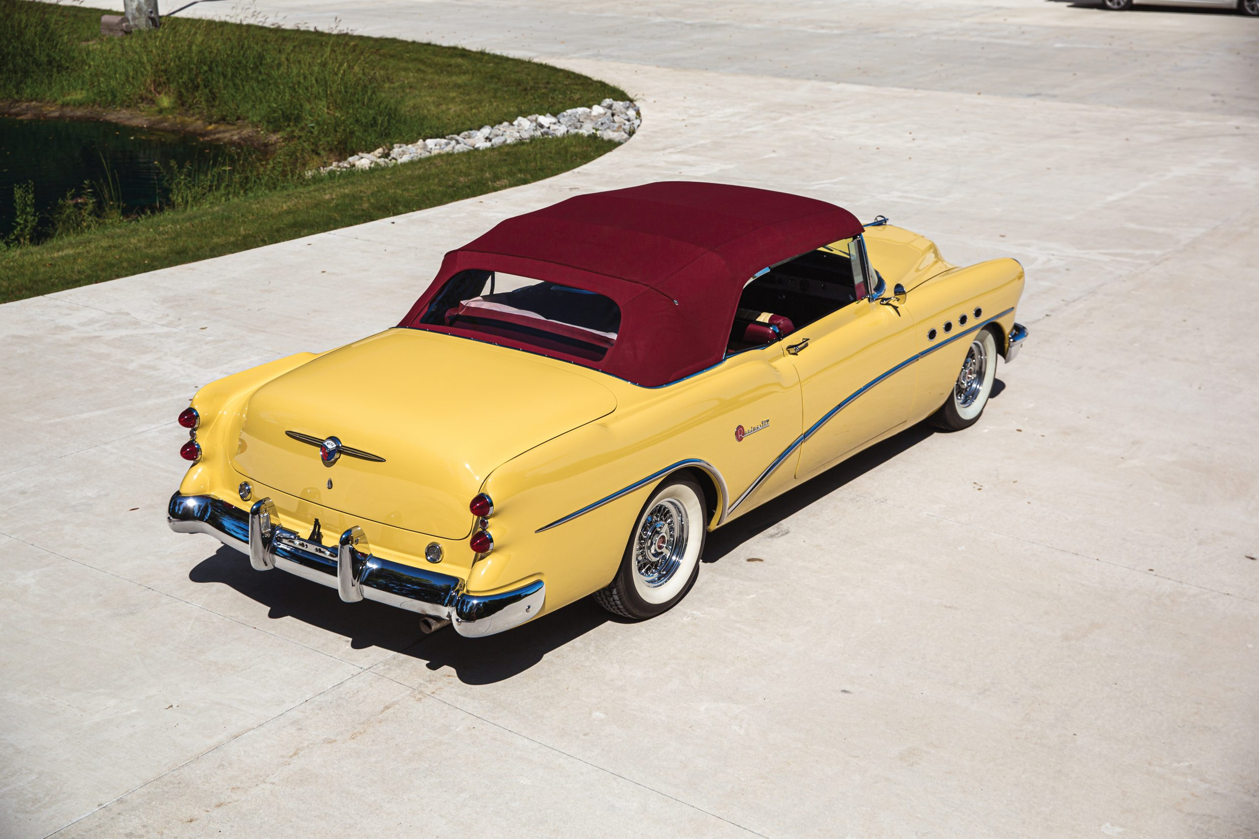 1954 Buick Roadmaster Convertible rear three-quarter