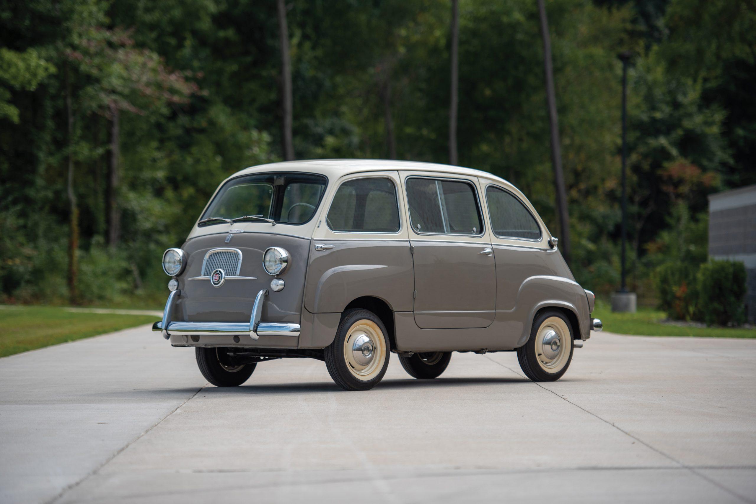 1958 Fiat 600 Multipla front three-quarter