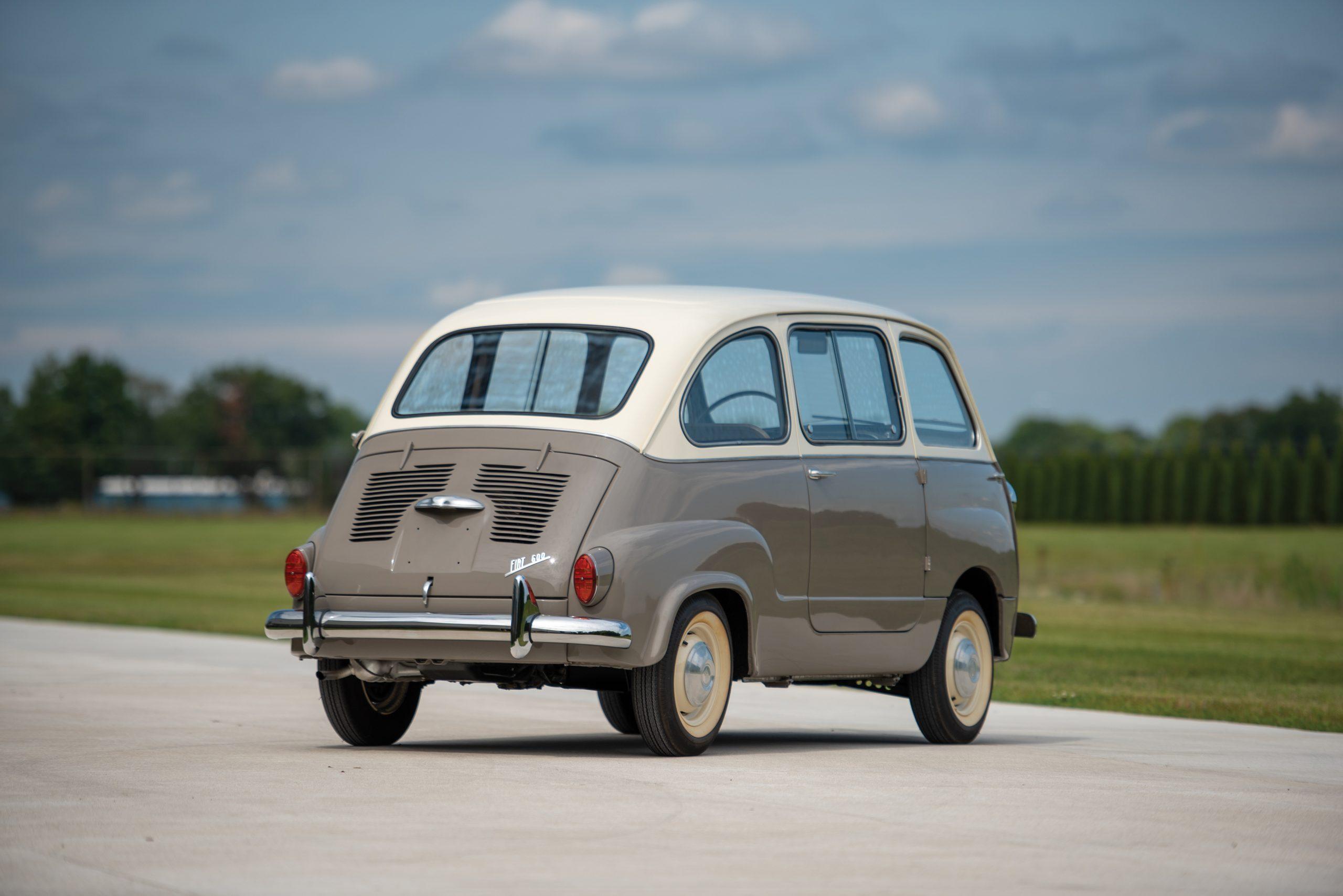 1958 Fiat 600 Multipla rear three-quarter