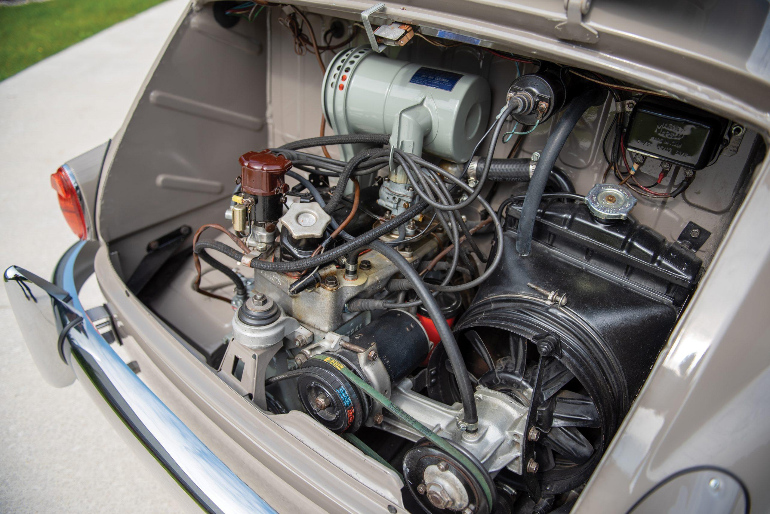1958 Fiat 600 Multipla engine