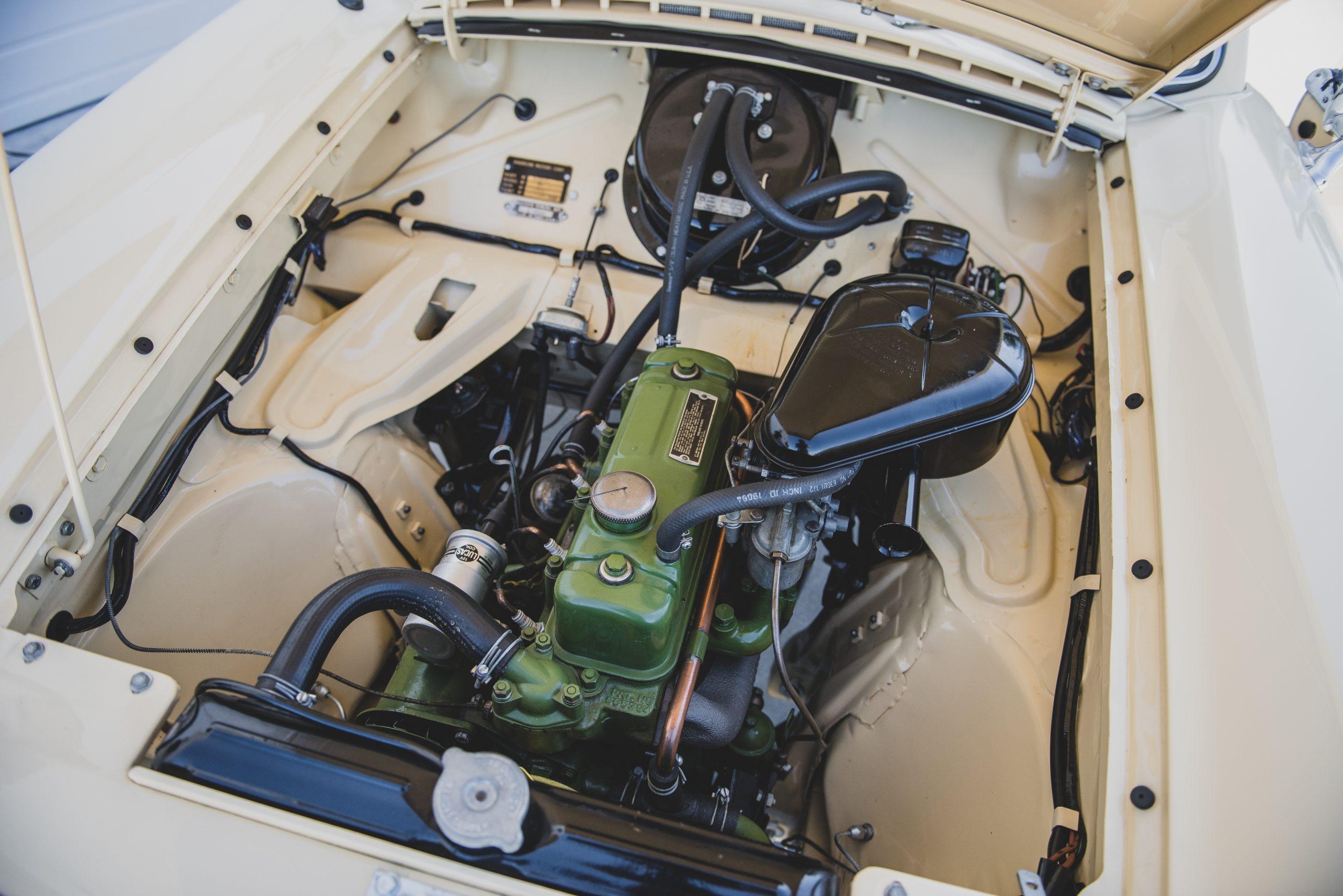 AMC Metropolitan 1500 Convertible engine