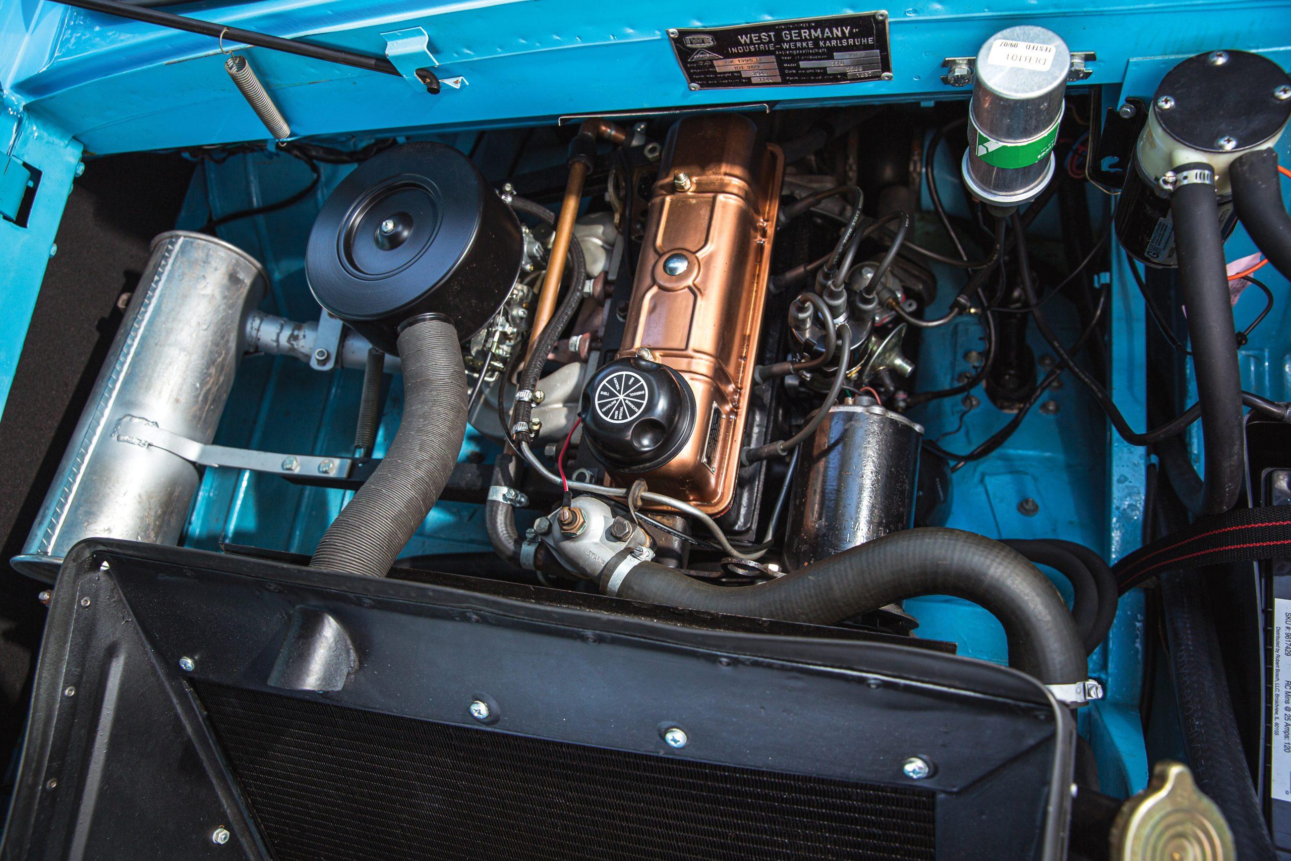 1966 Amphicar 770 engine