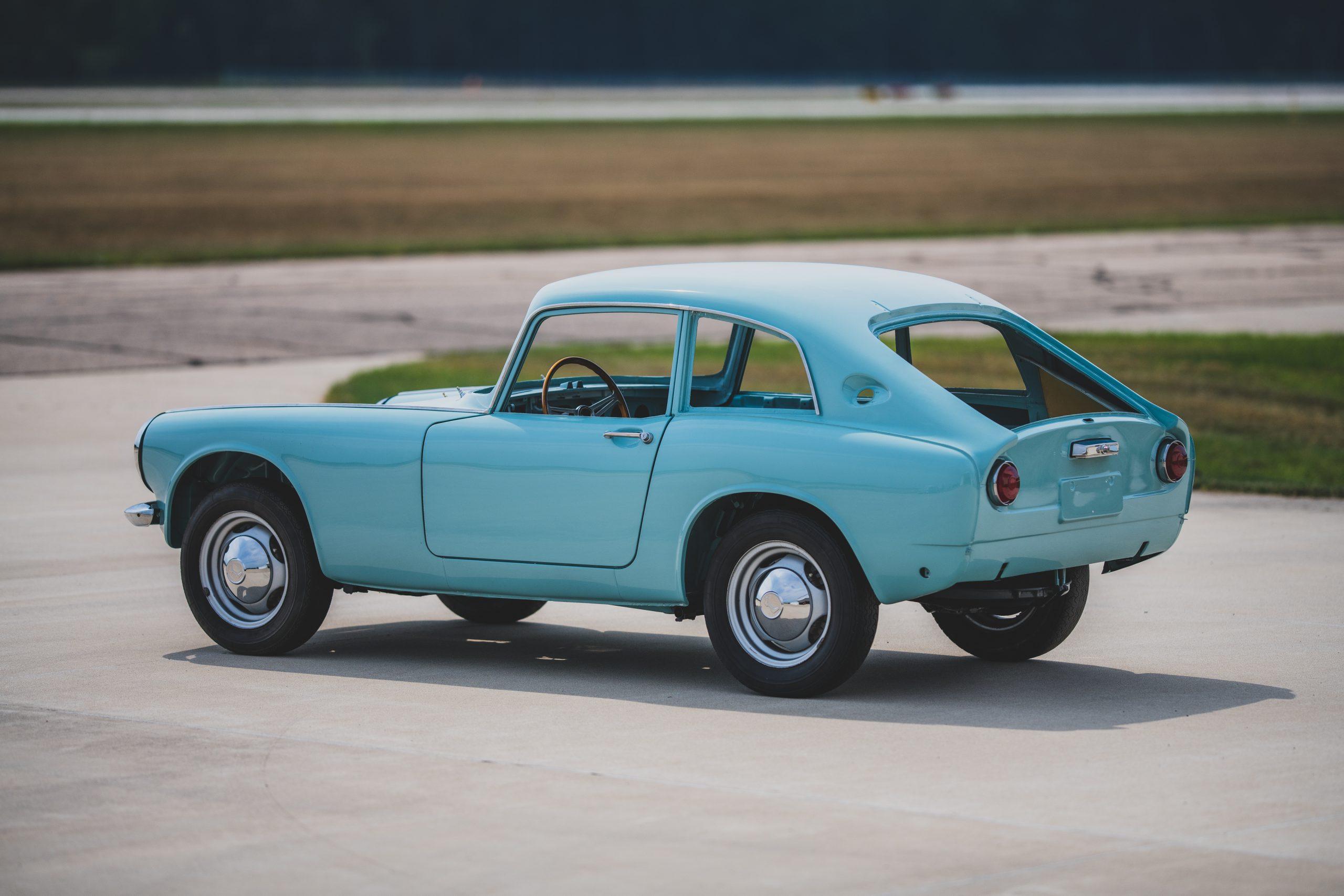 1966 Honda S600 Coupe rear three-quarter