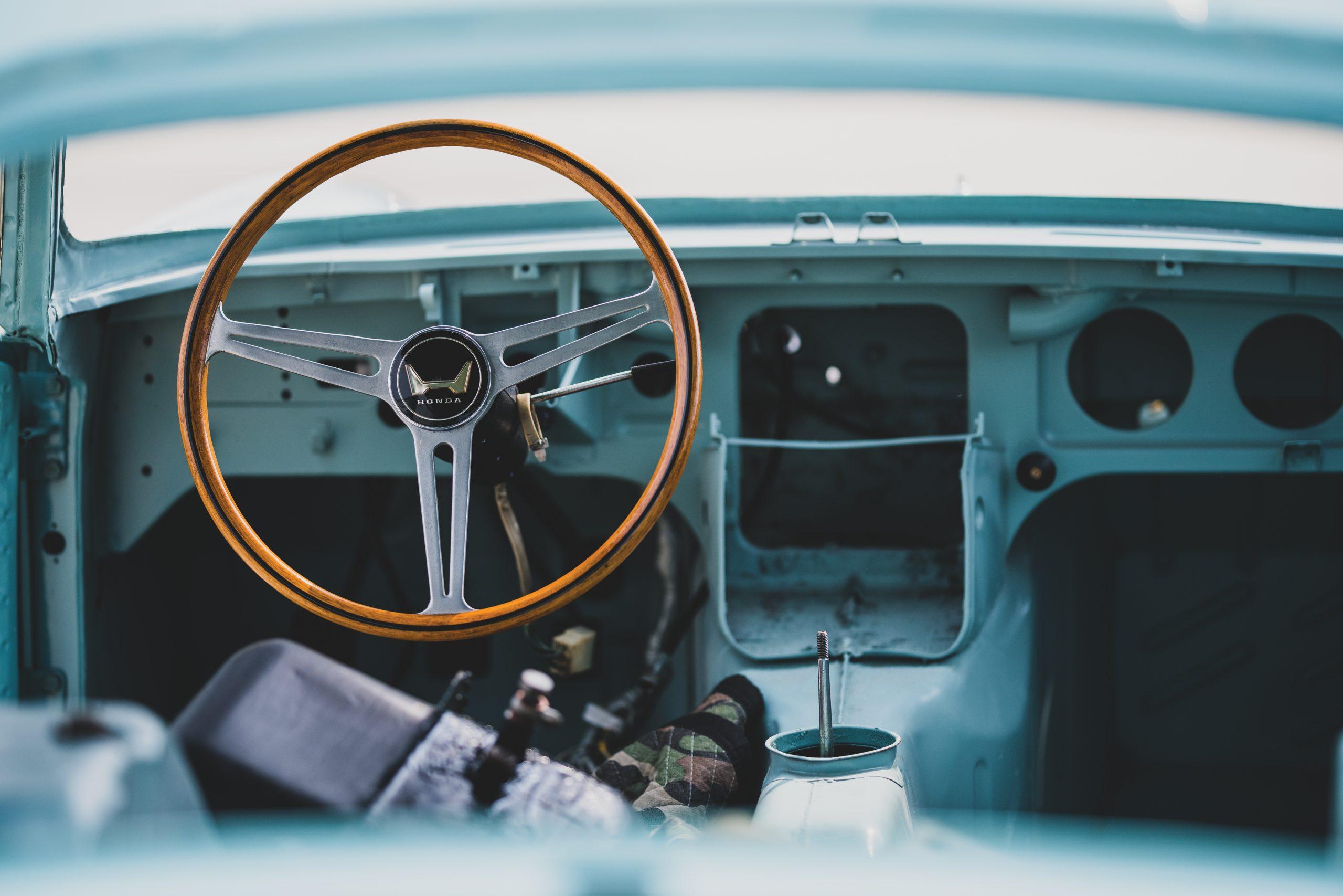 1966 Honda S600 Coupe interior