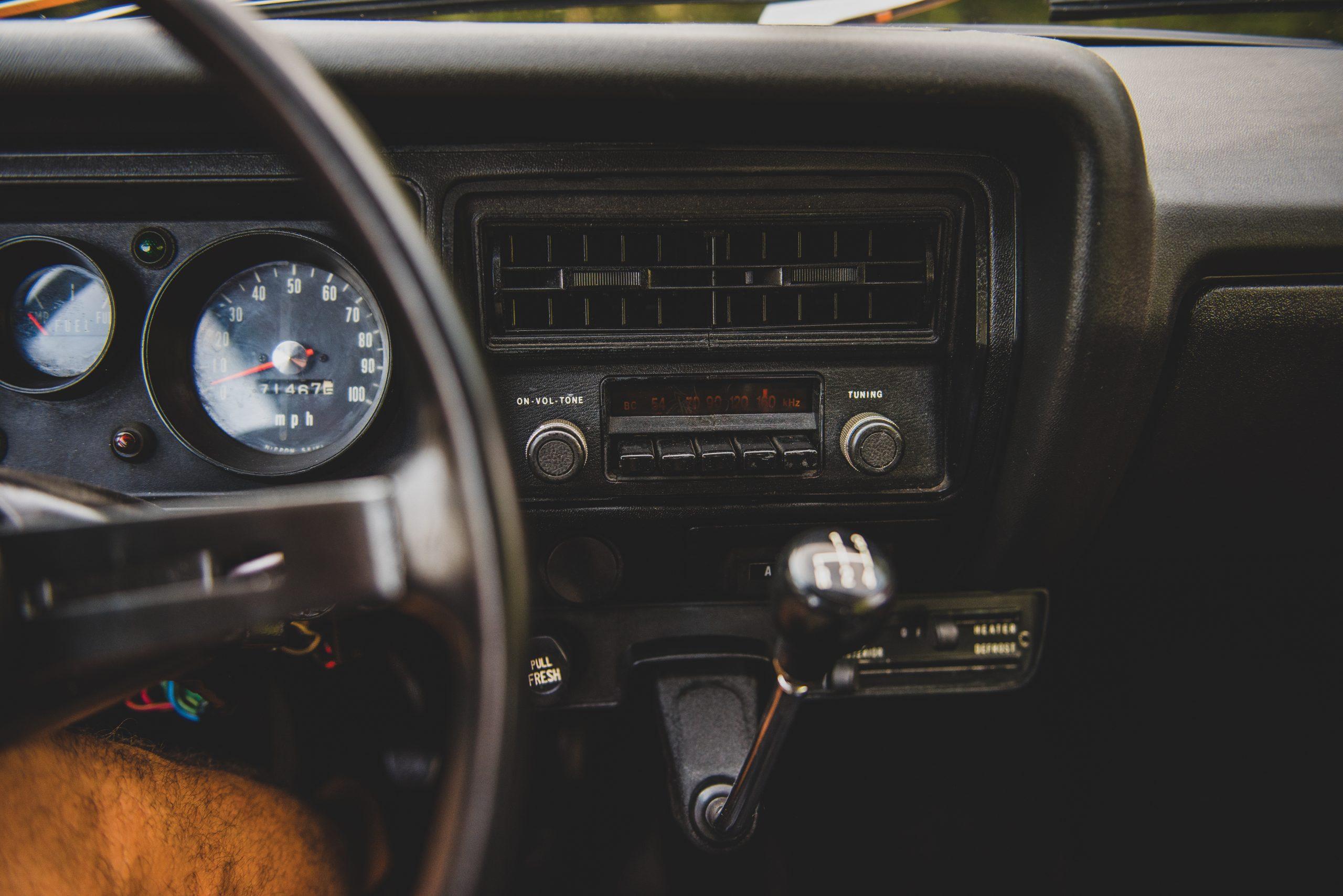 1972 Honda Z600 Coupe interior dash