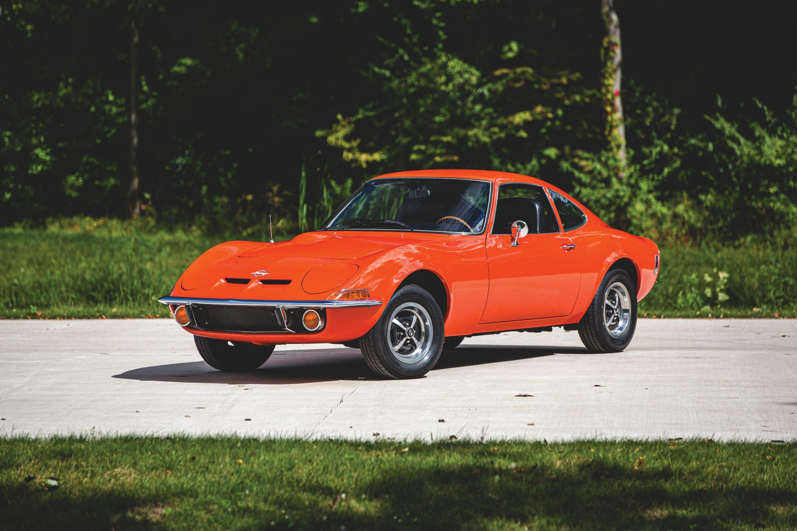 1973 Opel GT front three-quarter
