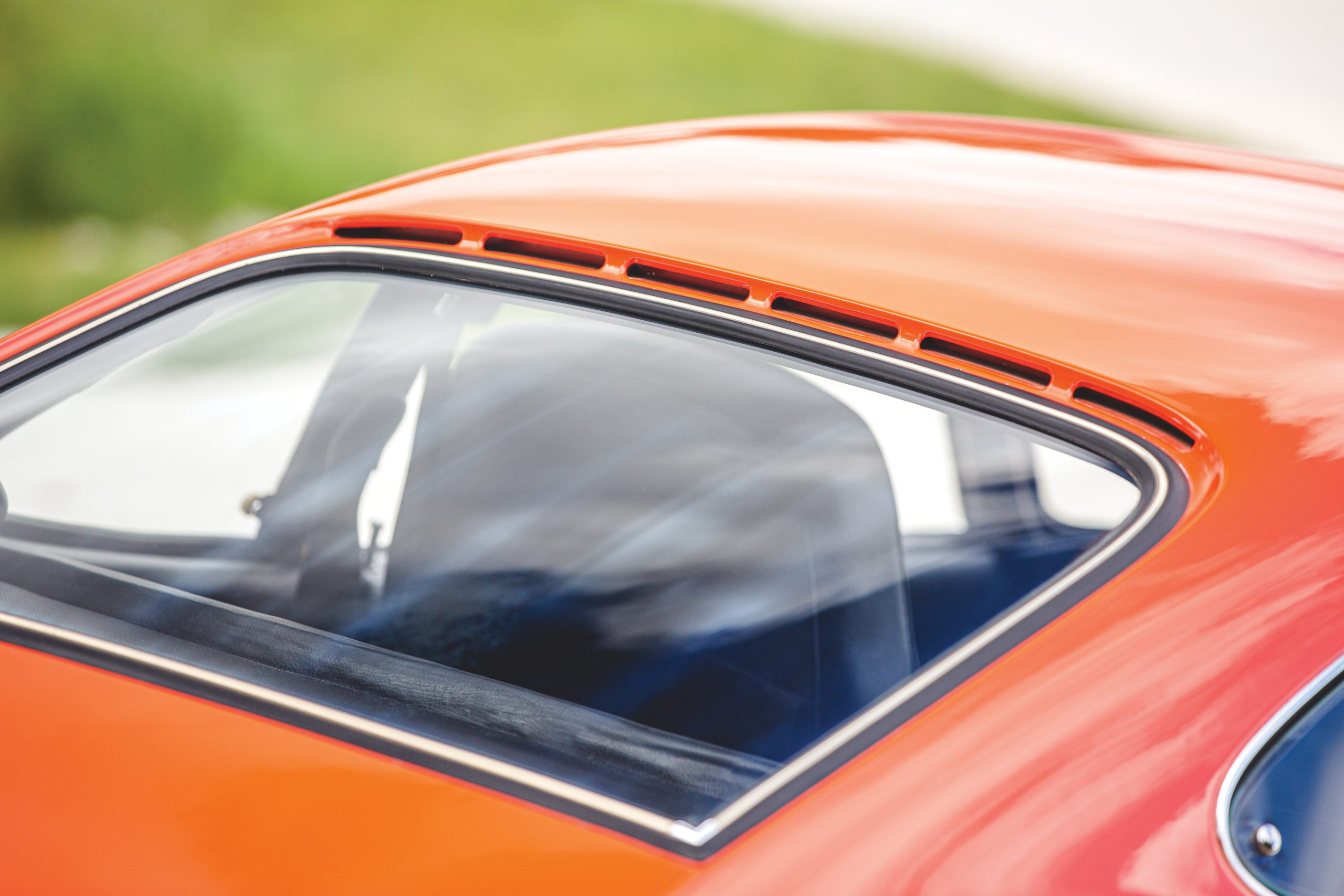 1973 Opel GT roof vent windows