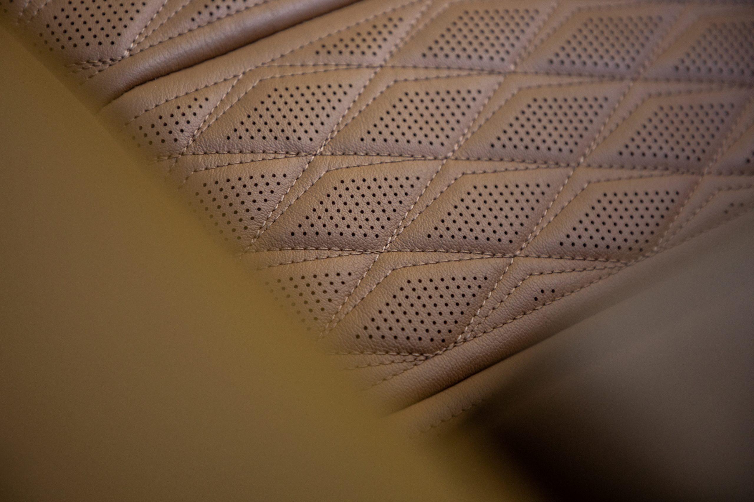 cadillac escalade leather diamond stitching