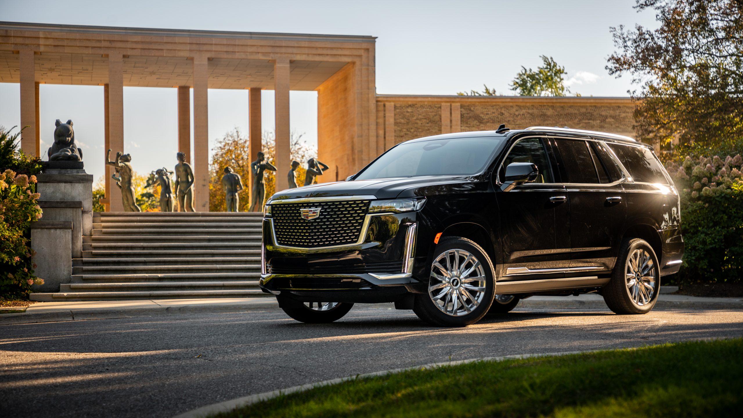 Review: 2021 Cadillac Escalade 2WD Premium Luxury ...