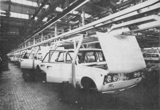 polski fiat 125 p production factory poland