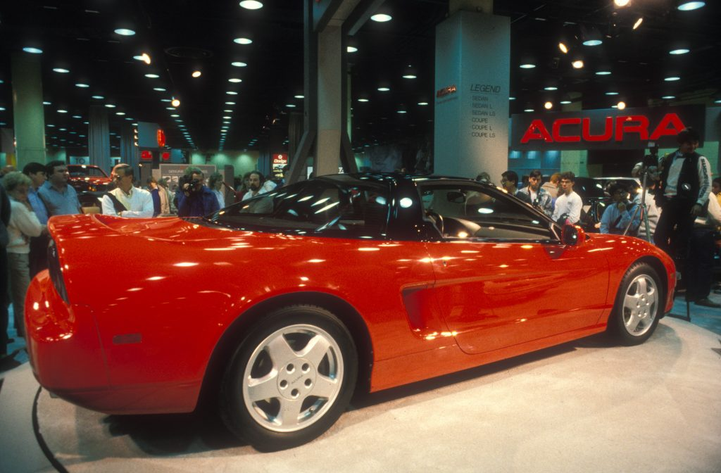 Acura NSX at Chicago Auto Show