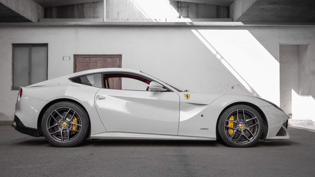 Ferrari F12 Berlinetta side profile