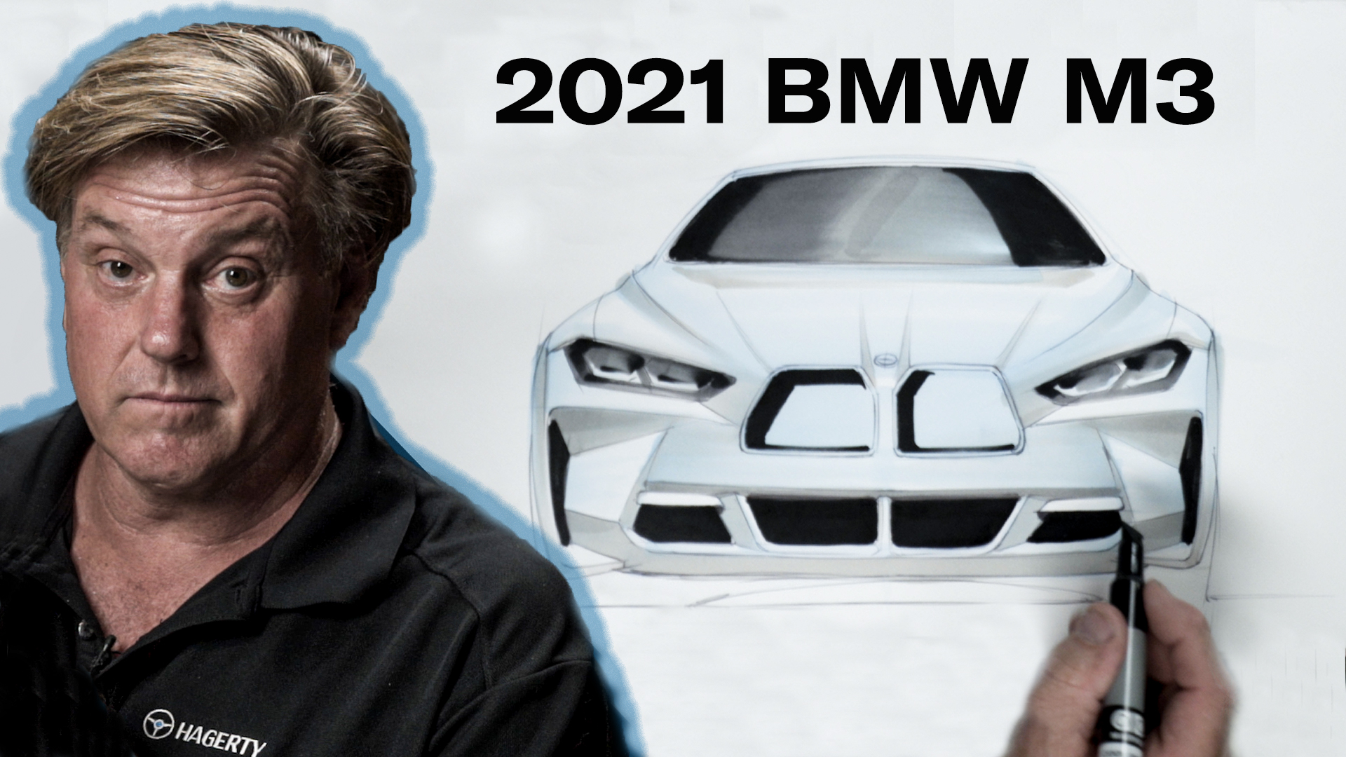 Chip Foose draws a 2021 M3