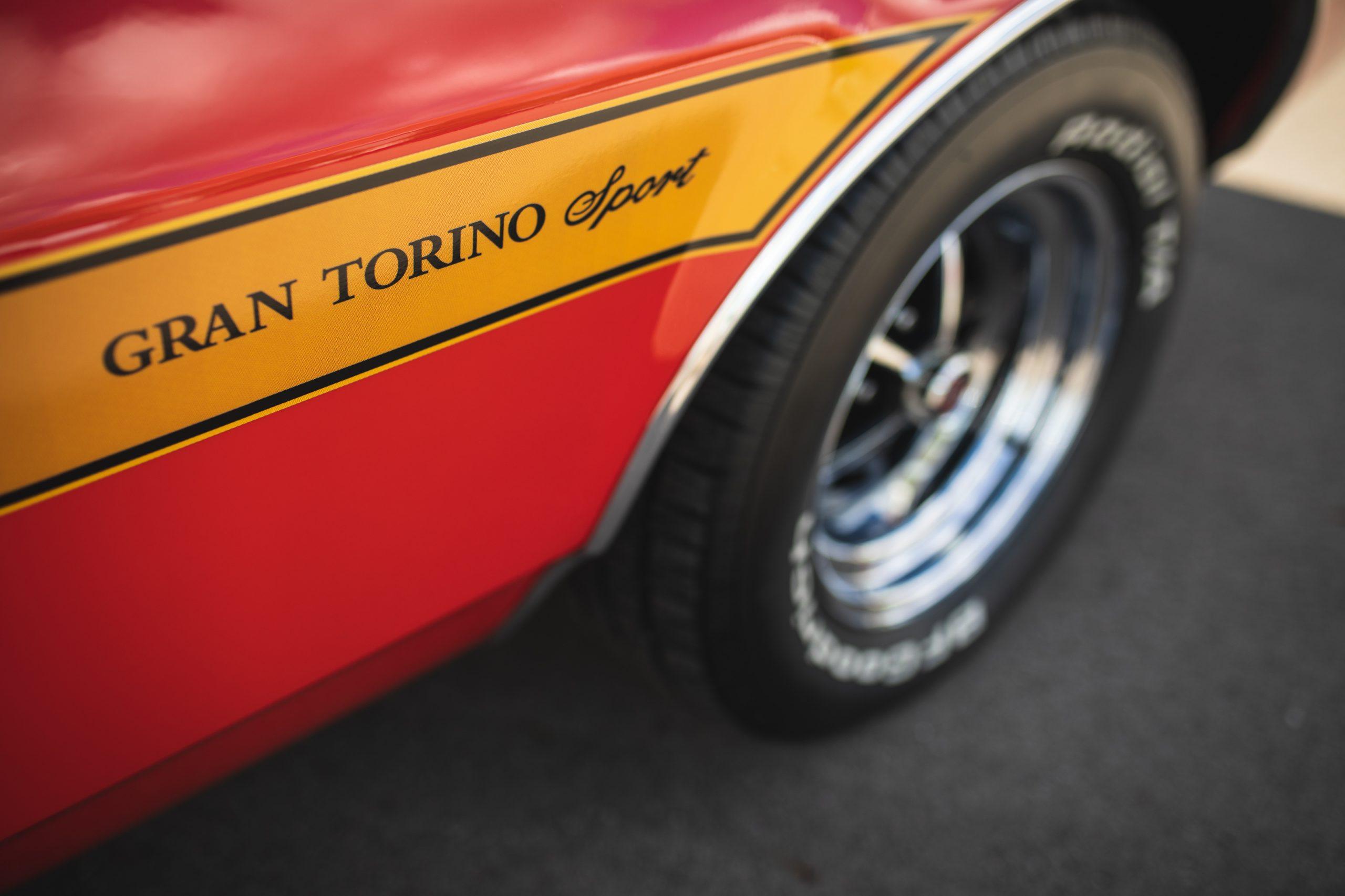 Ford Gran Torino PDC closing car show