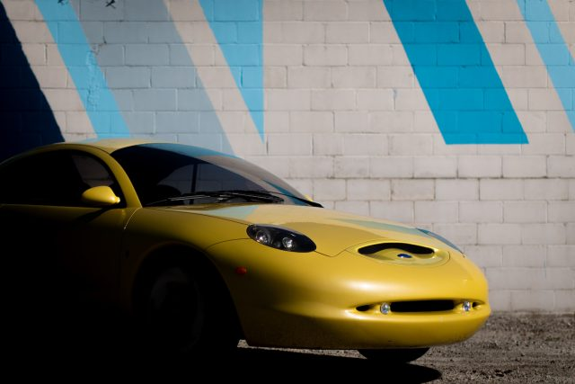 Ford Ghia Vivace Concept front shadow