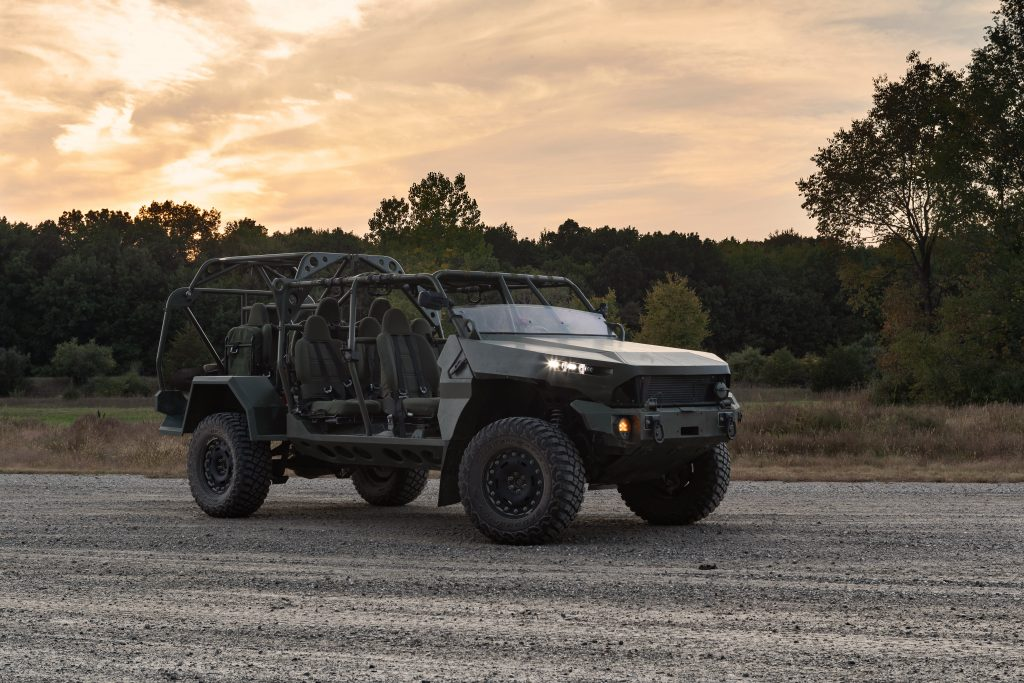 The GM Defense Infantry Squad Vehicle