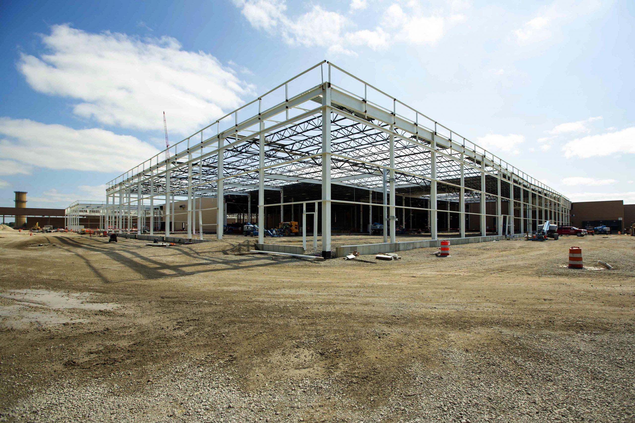 factory zero plant beams