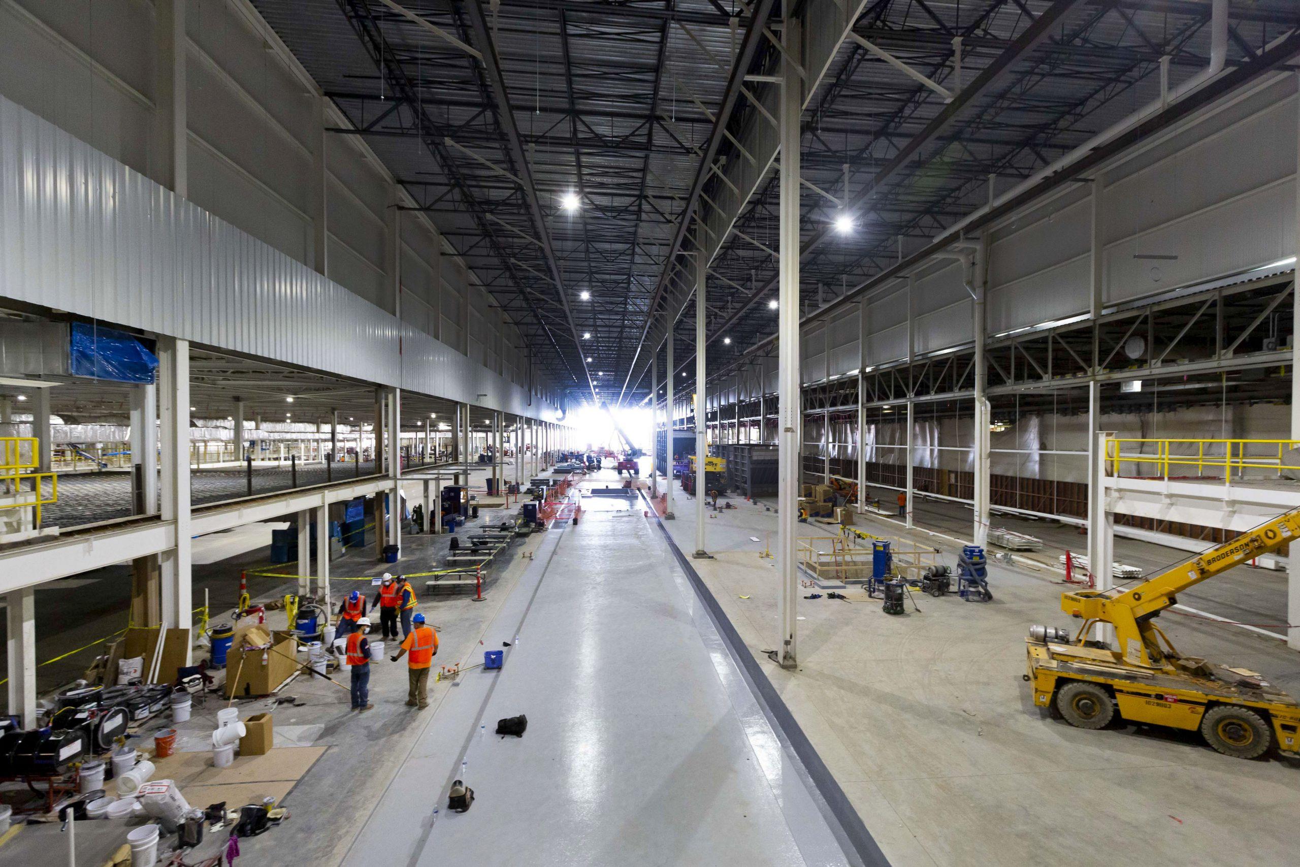 factory zero plant open halls